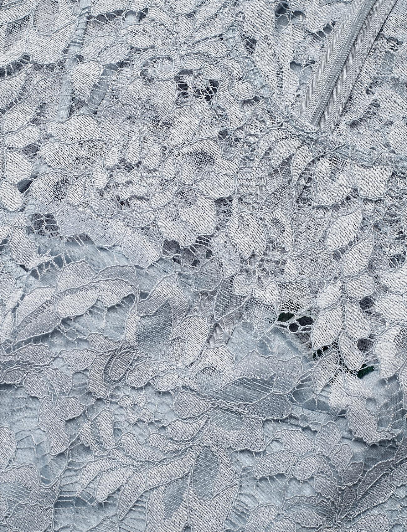 Lauren Ralph Lauren Drop-Waist Lace Dress - Sukienki TOILE BLUE - Kobiety Odzież.