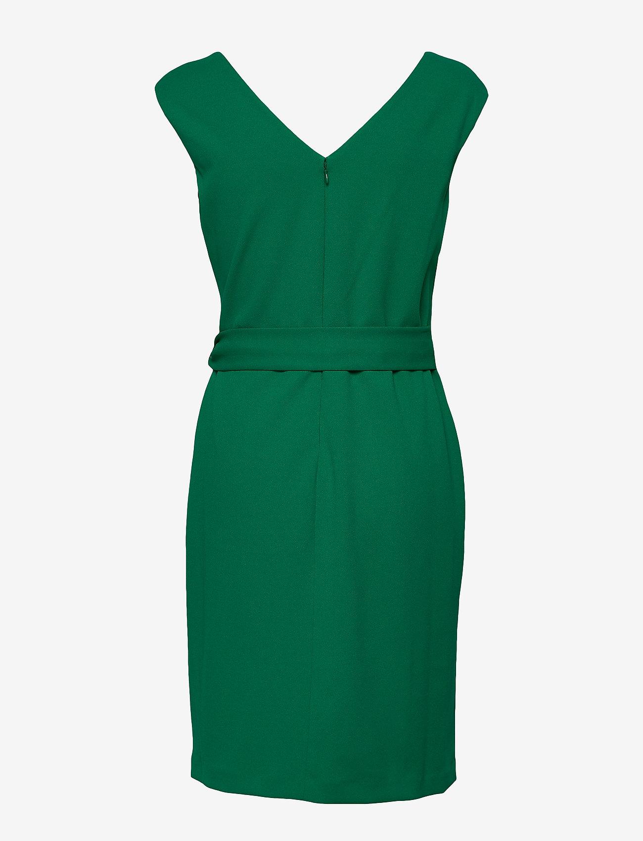 Jersey Cap-sleeve Dress (Malachite) - Lauren Ralph Lauren EvgpU5