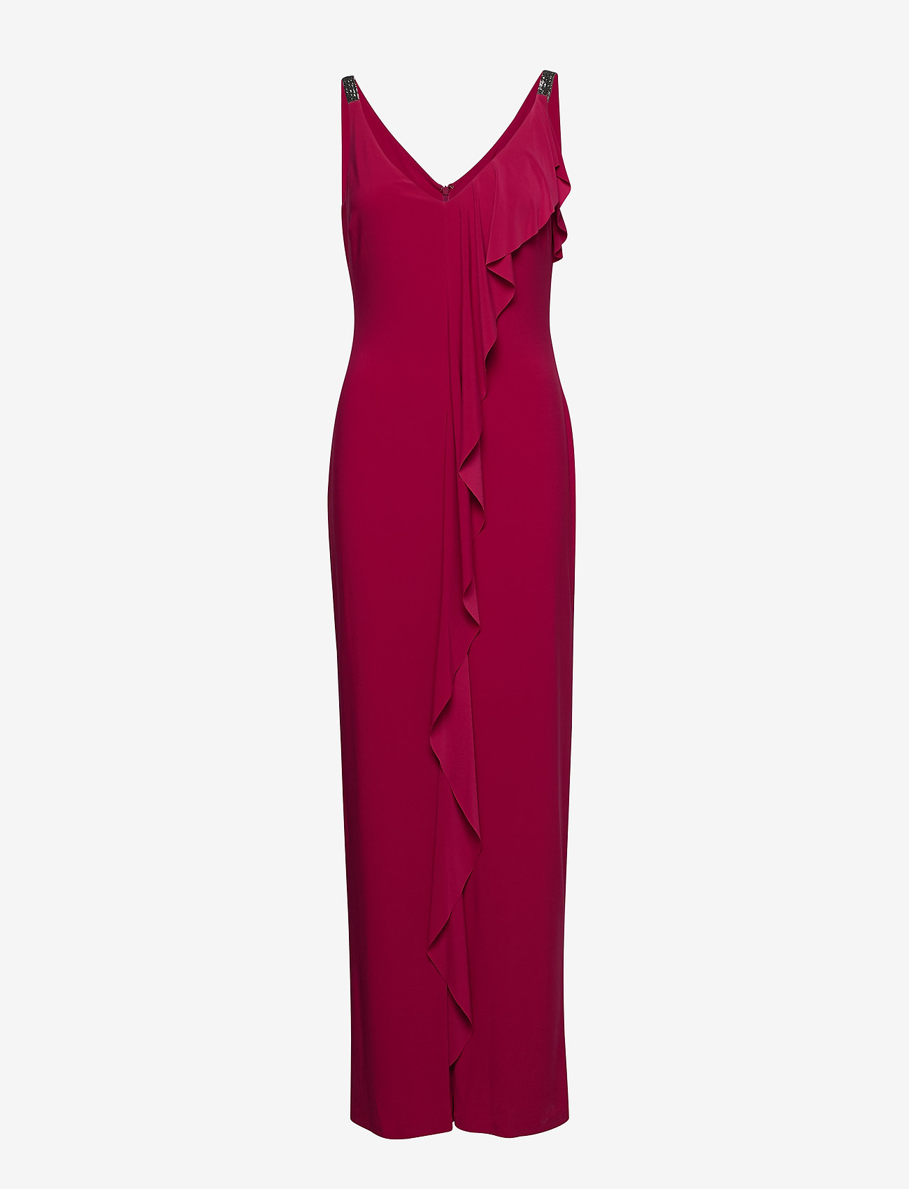 Lauren Ralph Lauren - VORIANA-SLEEVELESS-EVENING DRESS - maksimekot - bright orchid