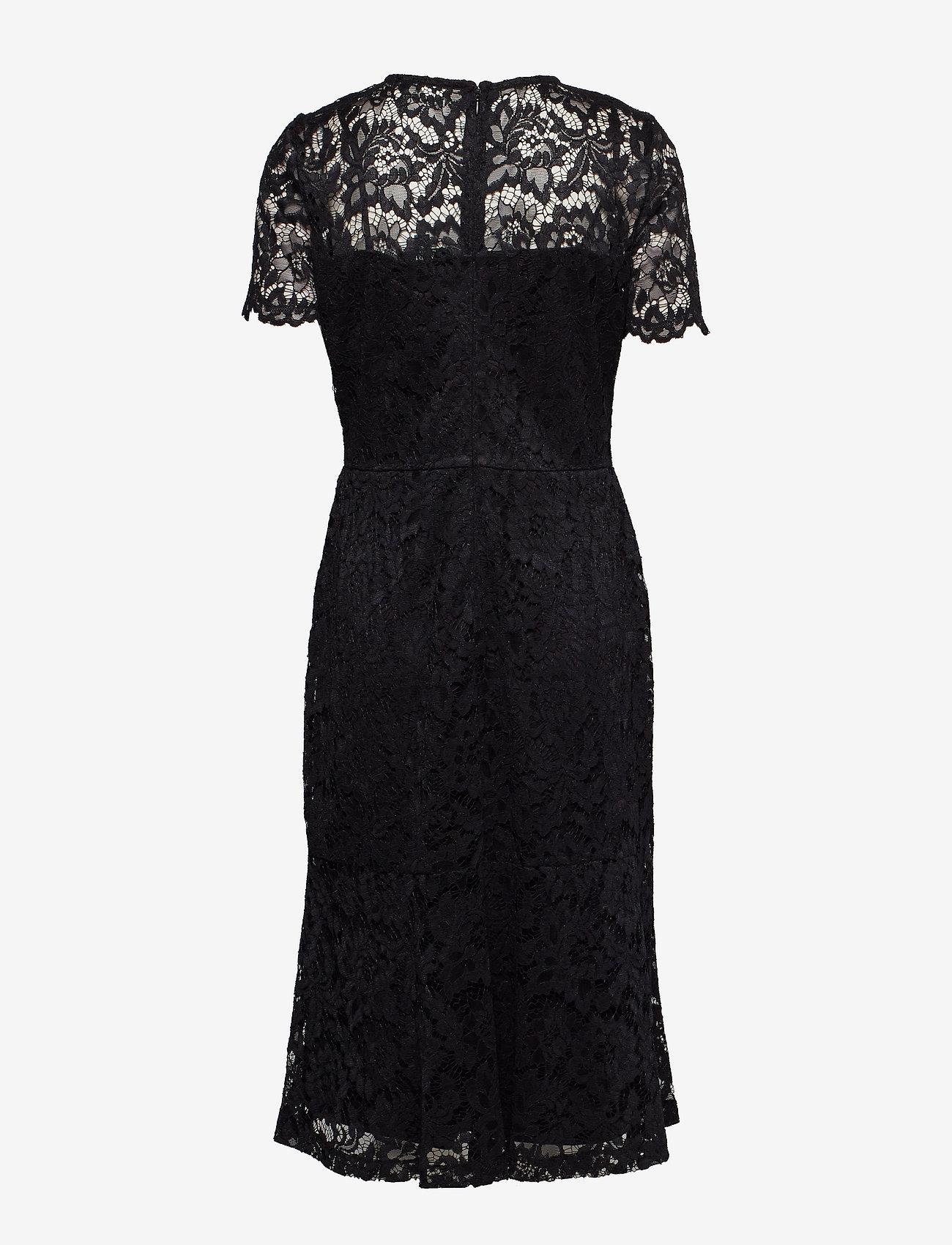 Lauren Ralph Lauren - Lace Cocktail Dress - midimekot - black