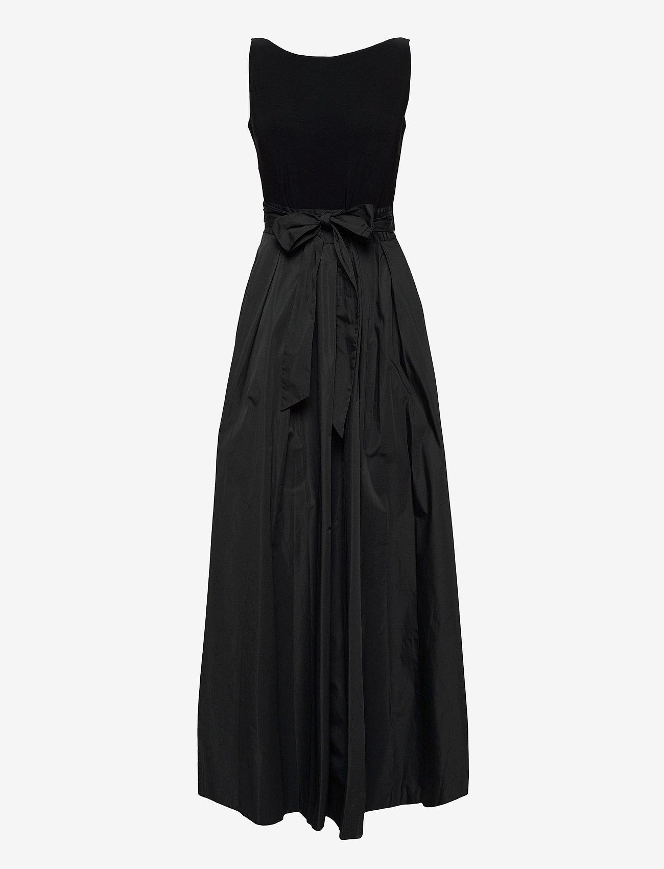 Lauren Ralph Lauren - Taffeta Sleeveless Gown - robes de soirée - black - 0