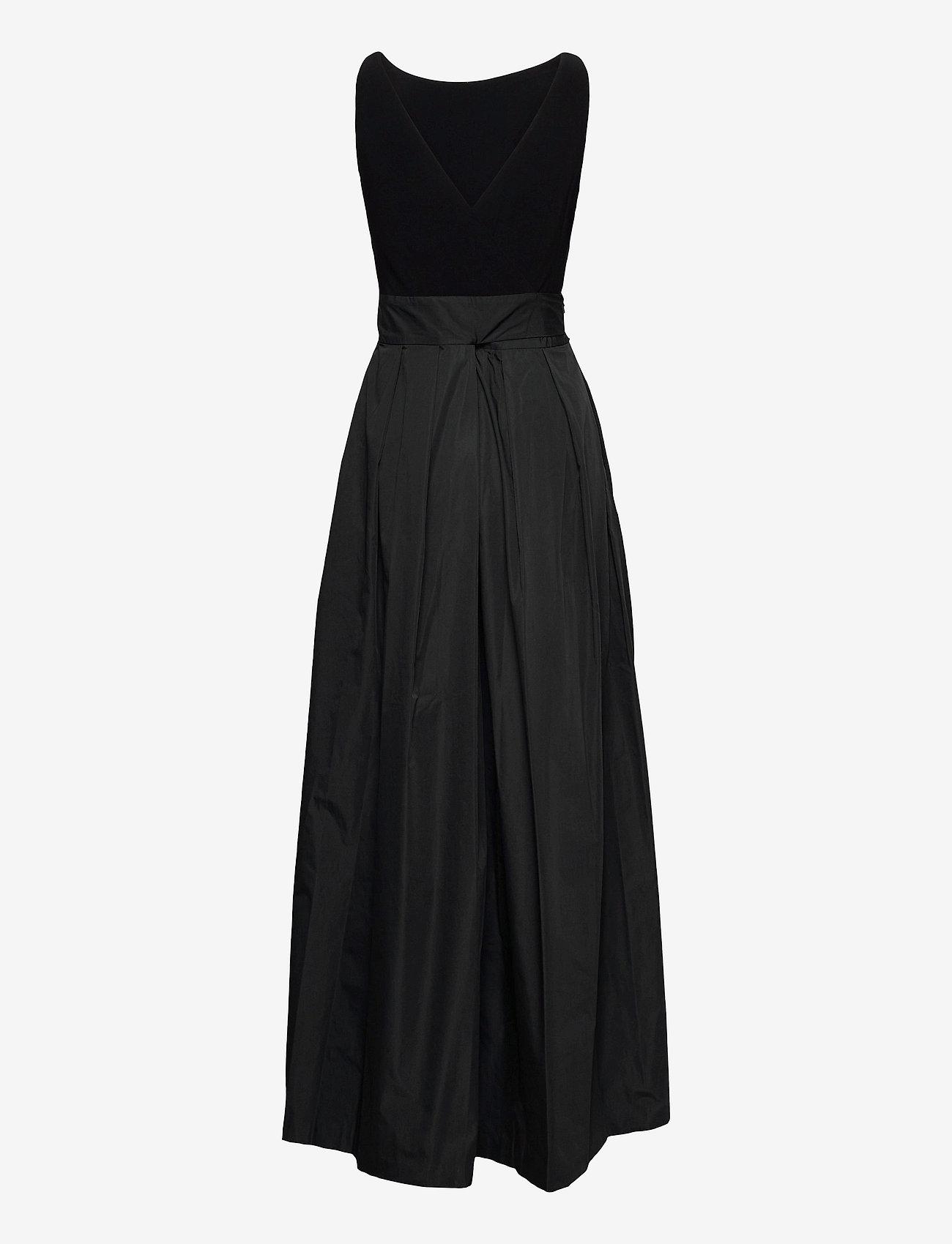 Lauren Ralph Lauren - Taffeta Sleeveless Gown - robes de soirée - black - 1