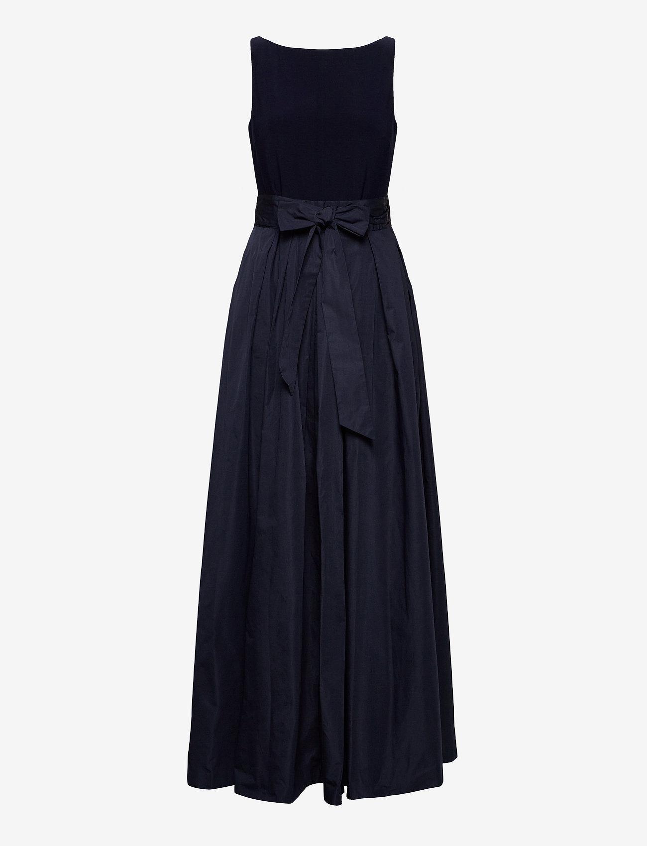 Lauren Ralph Lauren - Taffeta Sleeveless Gown - robes de soirée - lighthouse navy - 0