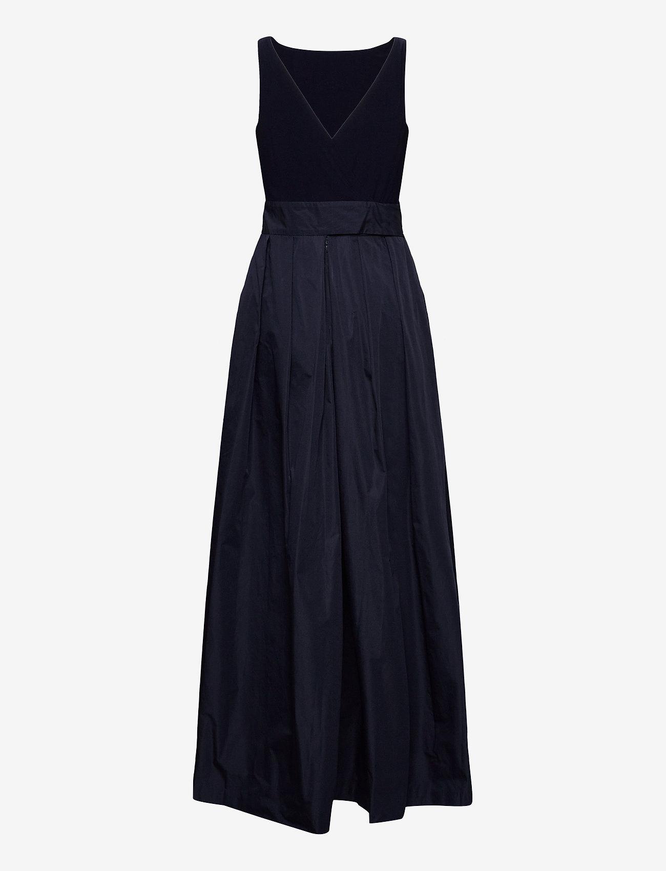 Lauren Ralph Lauren - Taffeta Sleeveless Gown - robes de soirée - lighthouse navy - 1