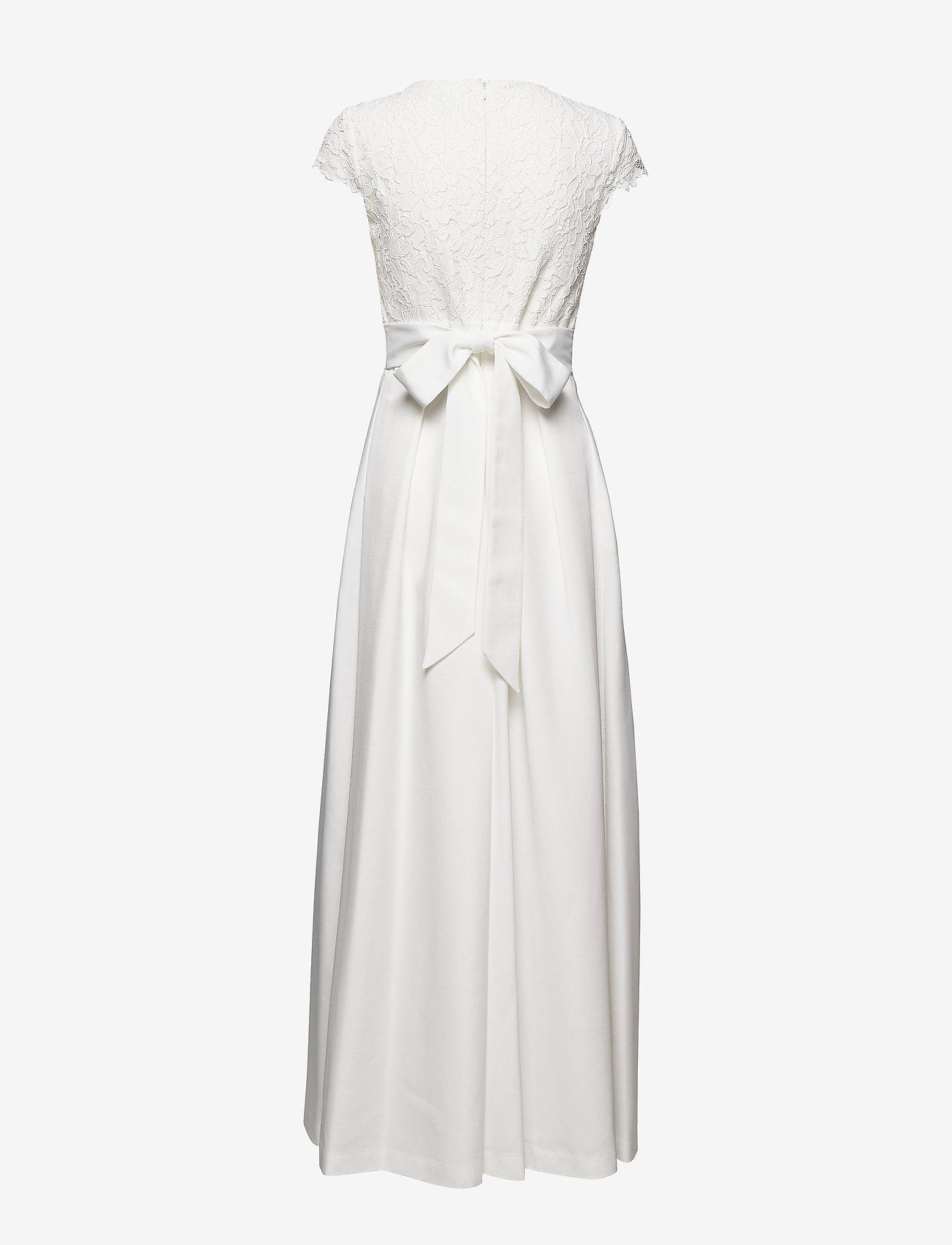 Lauren Ralph Faille-long Gown W/ Combo - Dresses