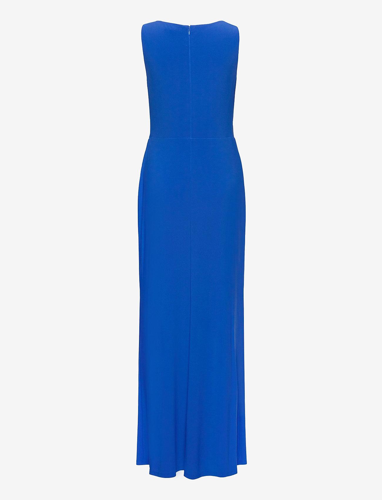 Lauren Ralph Lauren - Jersey Sleeveless Dress - maxi kjoler - portuguese blue - 1