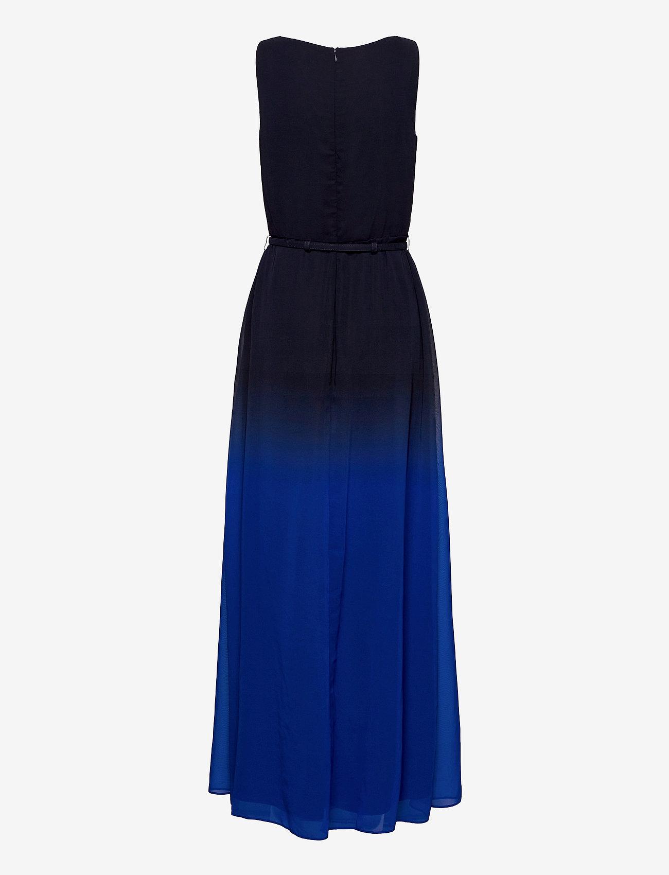 Lauren Ralph Lauren - Ombré Georgette Sleeveless Gown - kveldskjoler - sapphire star/lh - 1