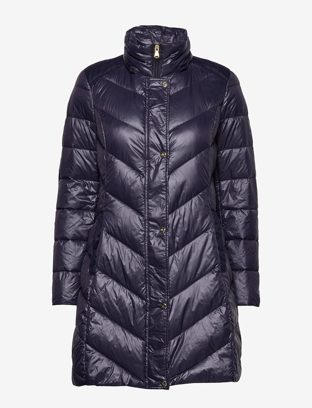 Lauren Ralph Lauren Chevron Jacket - Kurtki i Płaszcze NAVY - Kobiety Odzież.