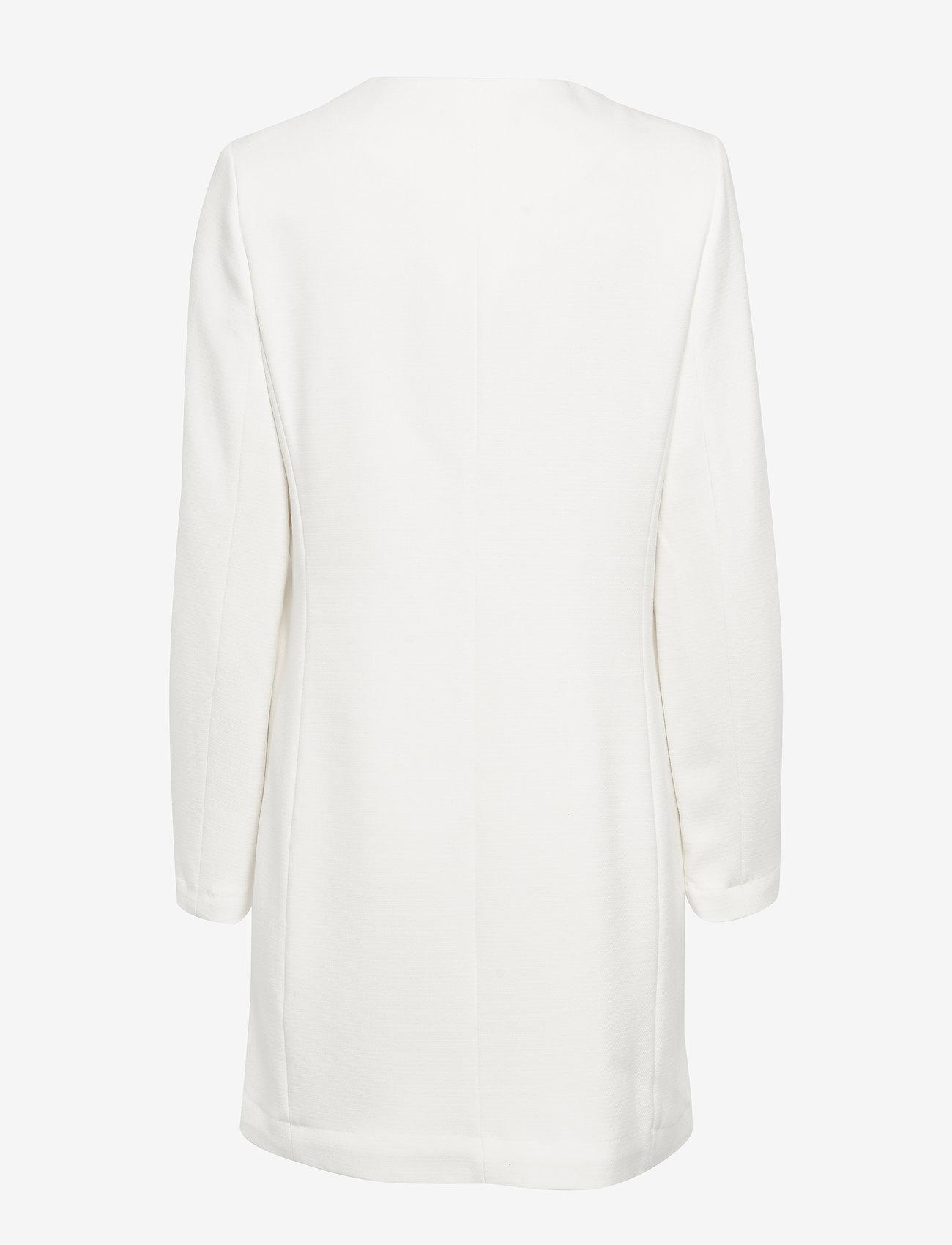 Lauren Ralph Lauren - Crepe Coat - wełniane płaszcze - cream - 1