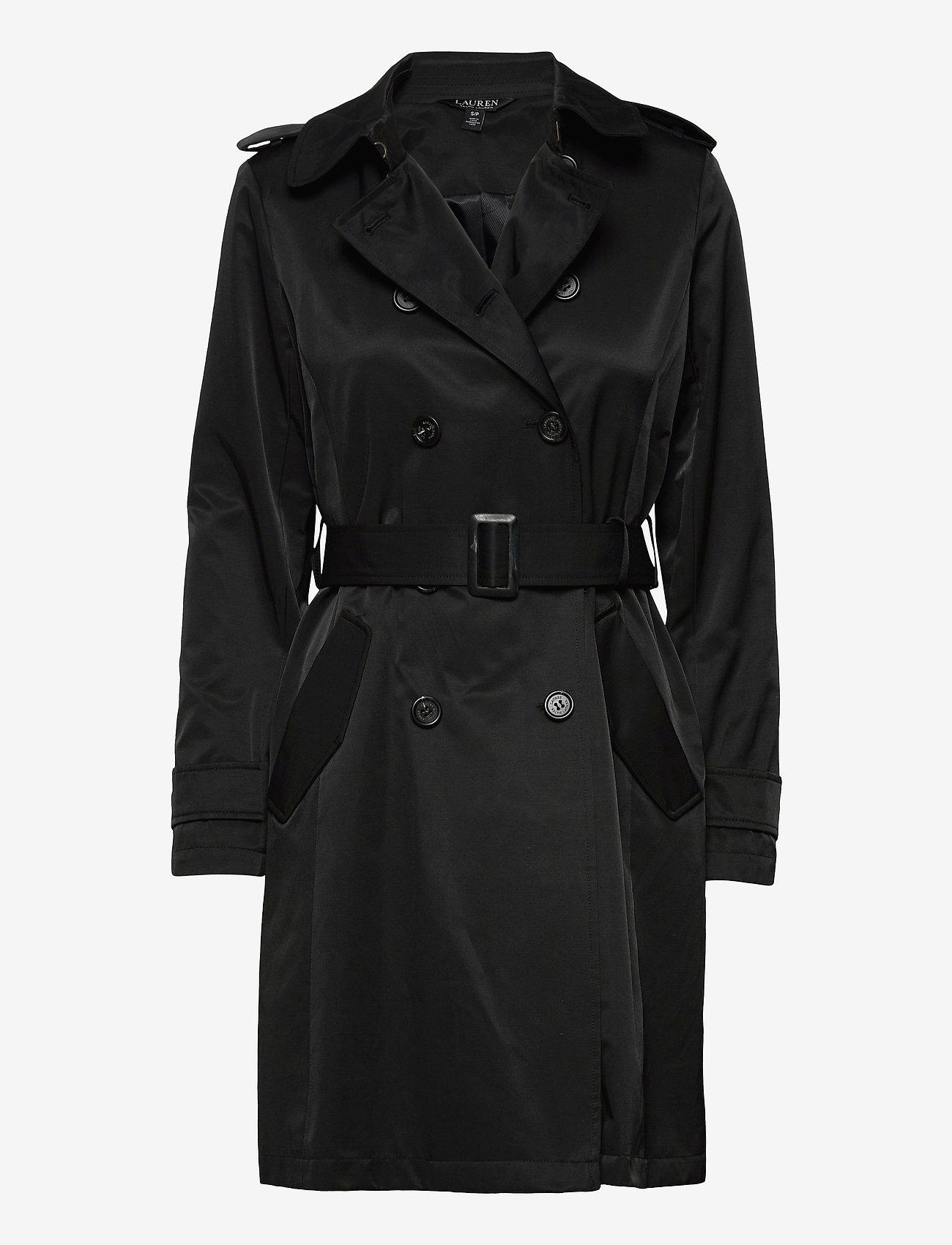 Lauren Ralph Lauren - Trench Coat - trenchcoats - black - 1