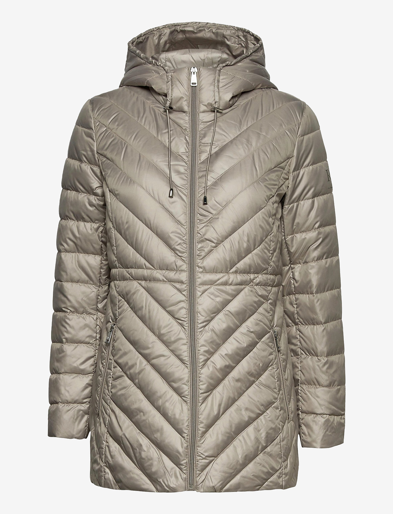 Lauren Ralph Lauren - Packable Down Anorak Coat - dynefrakke - cork - 1