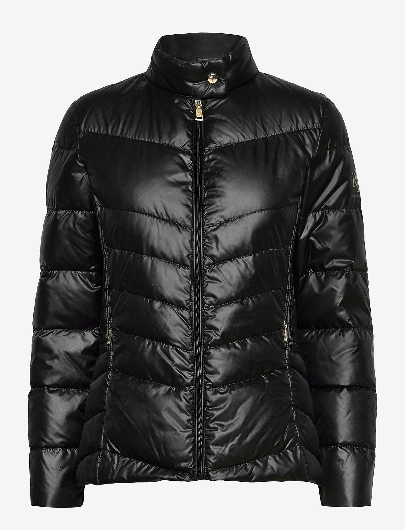Lauren Ralph Lauren - Down Moto Jacket - doudounes - black - 1