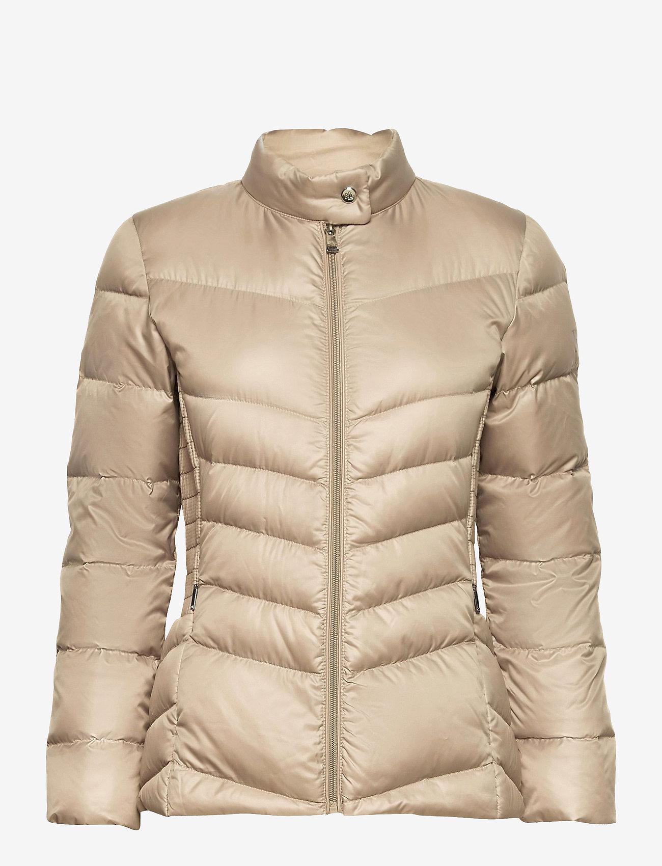Lauren Ralph Lauren - Down Moto Jacket - forede jakker - luxe chino - 1