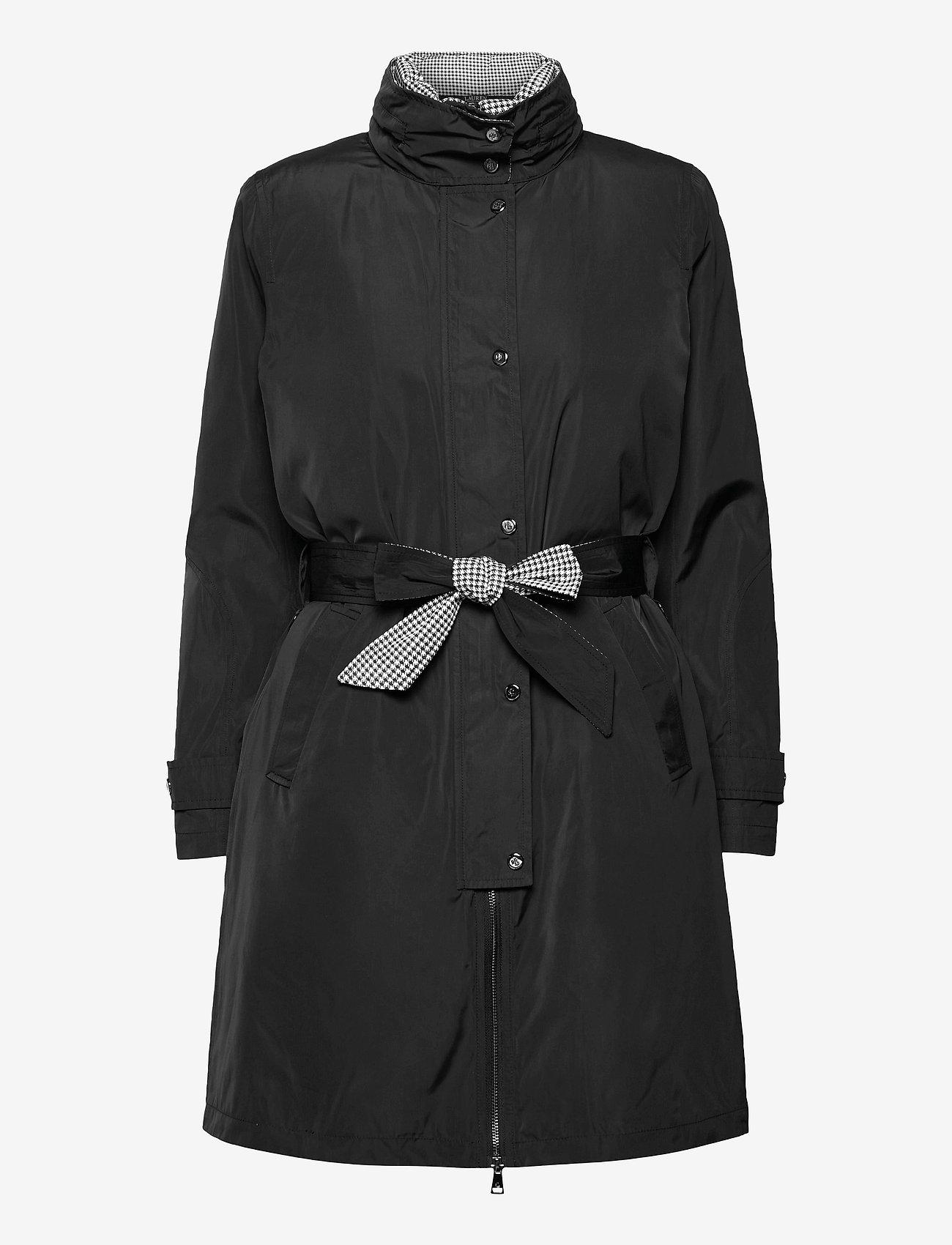 Lauren Ralph Lauren - 2-in-1 Vest and Coat - trenchcoats - black - 1