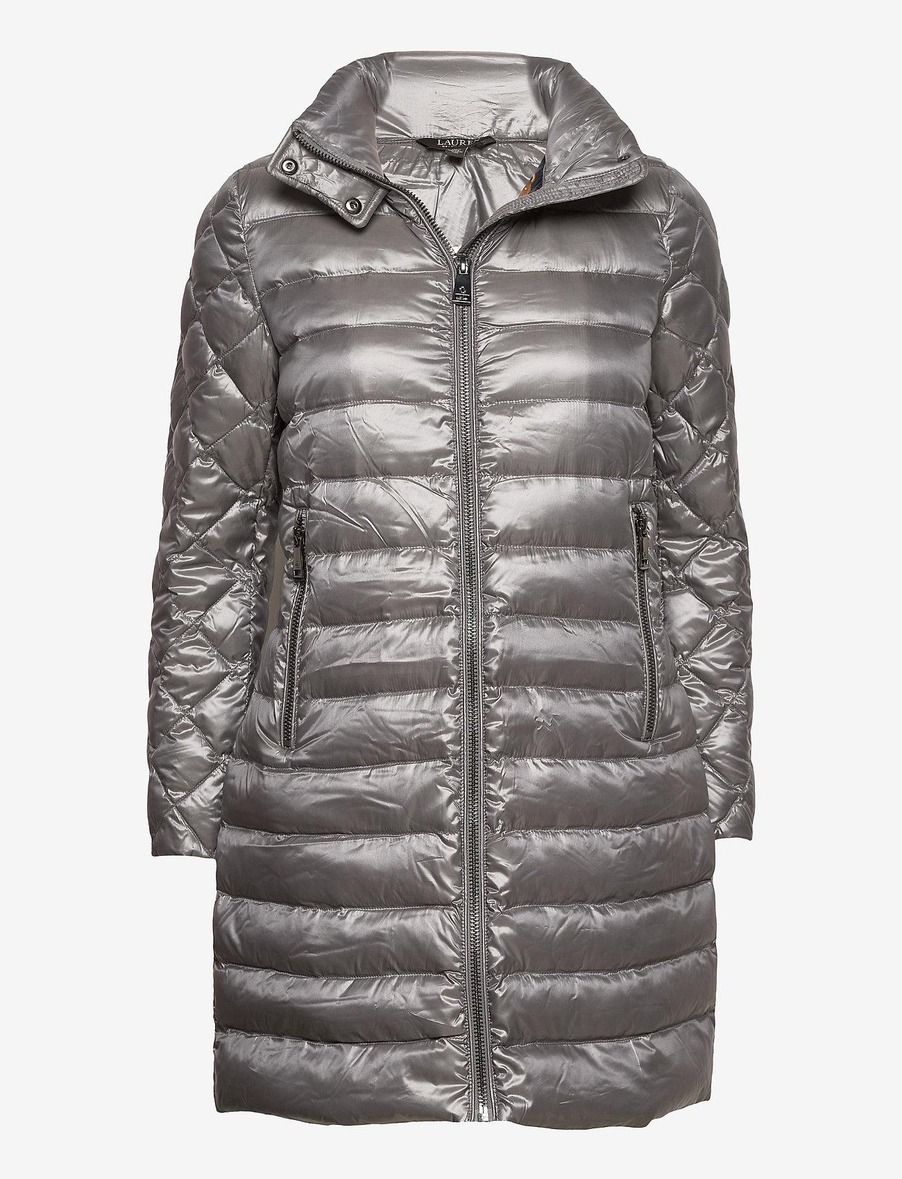 Lauren Ralph Lauren - Packable Quilted Down Coat - dynefrakke - silver - 1