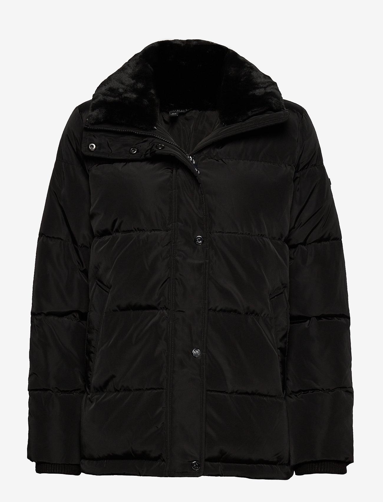 Lauren Ralph Lauren - Boxy Down Jacket - forede jakker - black - 1