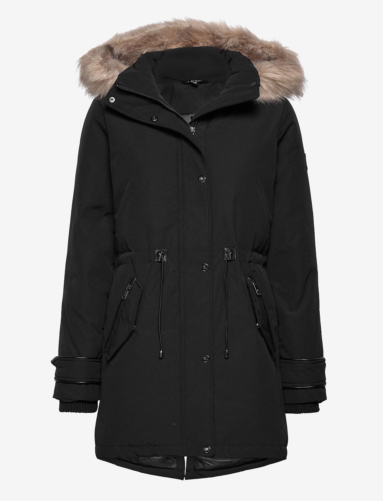 Lauren Ralph Lauren - Hooded Parka Coat - parkacoats - black - 1