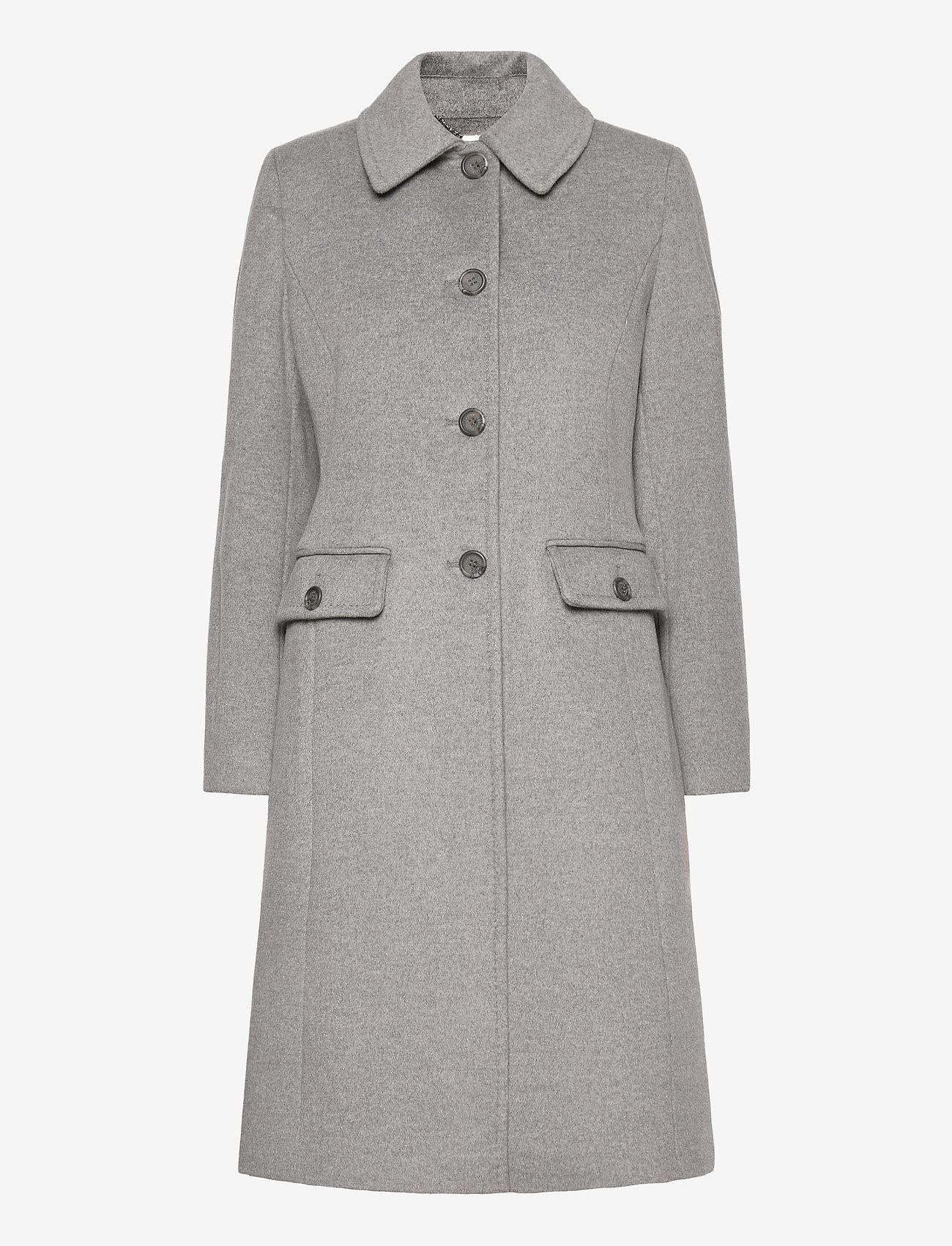 Lauren Ralph Lauren - Wool-Cashmere Coat - uldfrakker - light heather gre - 1