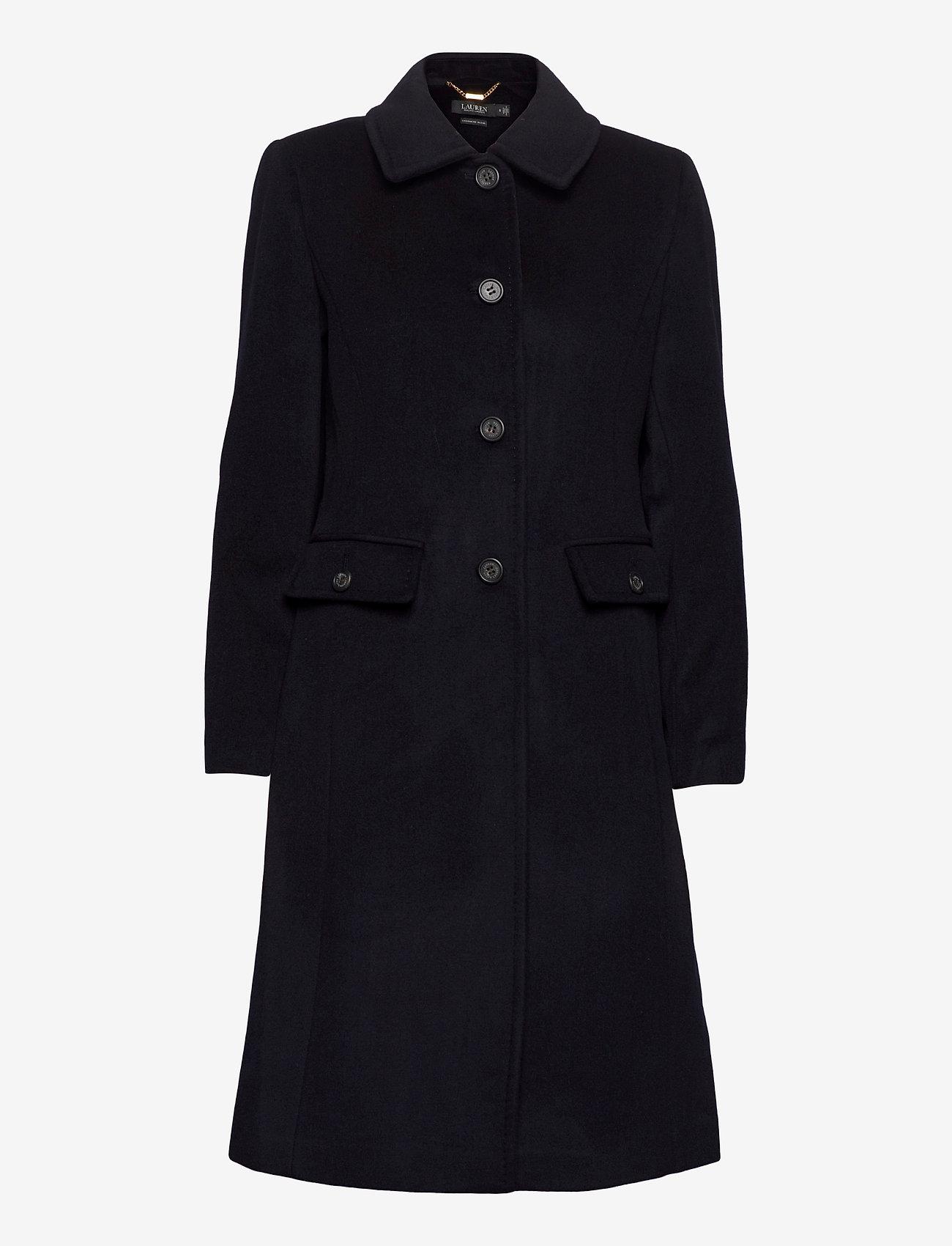 Lauren Ralph Lauren - Wool-Cashmere Coat - uldfrakker - regal navy - 1
