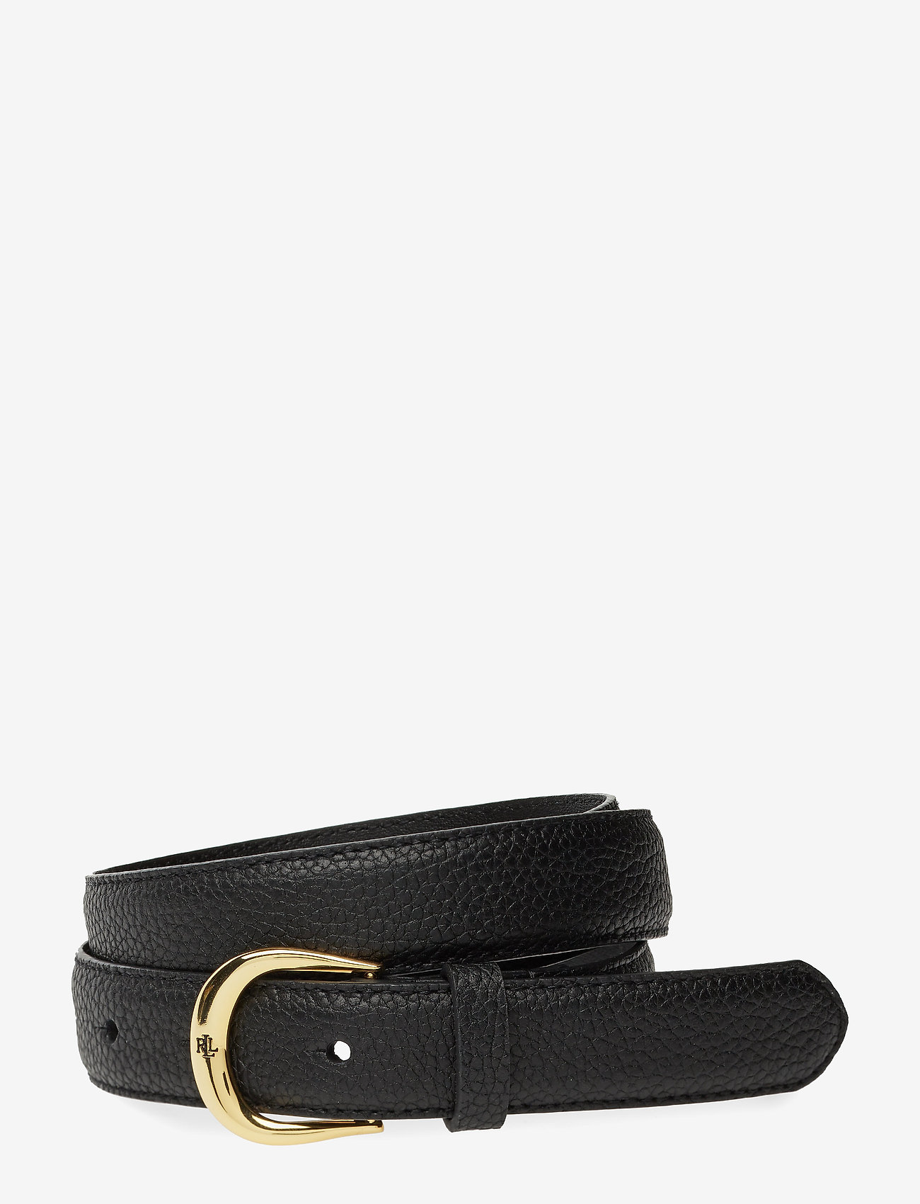Lauren Ralph Lauren - Leather Belt - riemen - black - 0