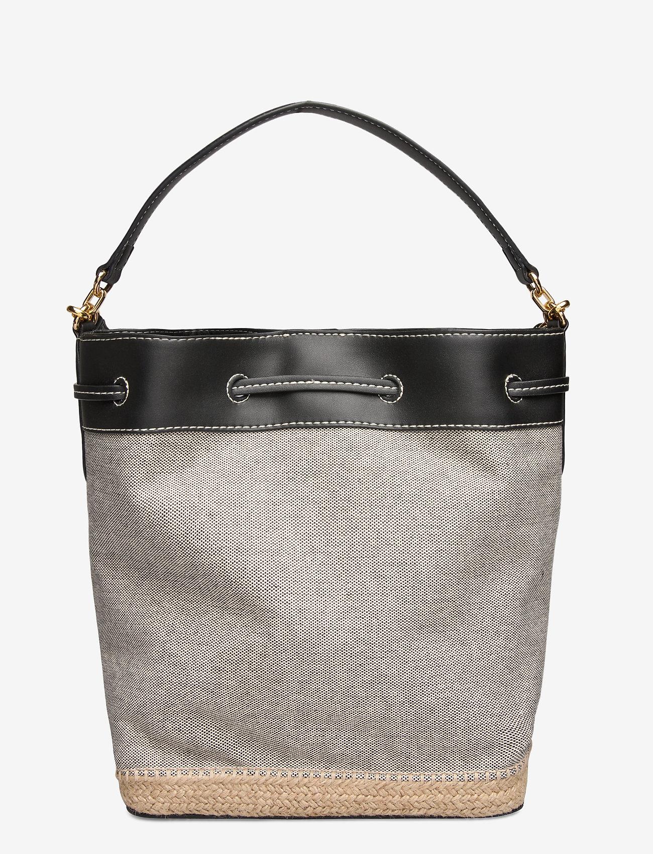 Lauren Ralph Lauren - Canvas Debby Drawstring Bag - sacs seau - black - 1