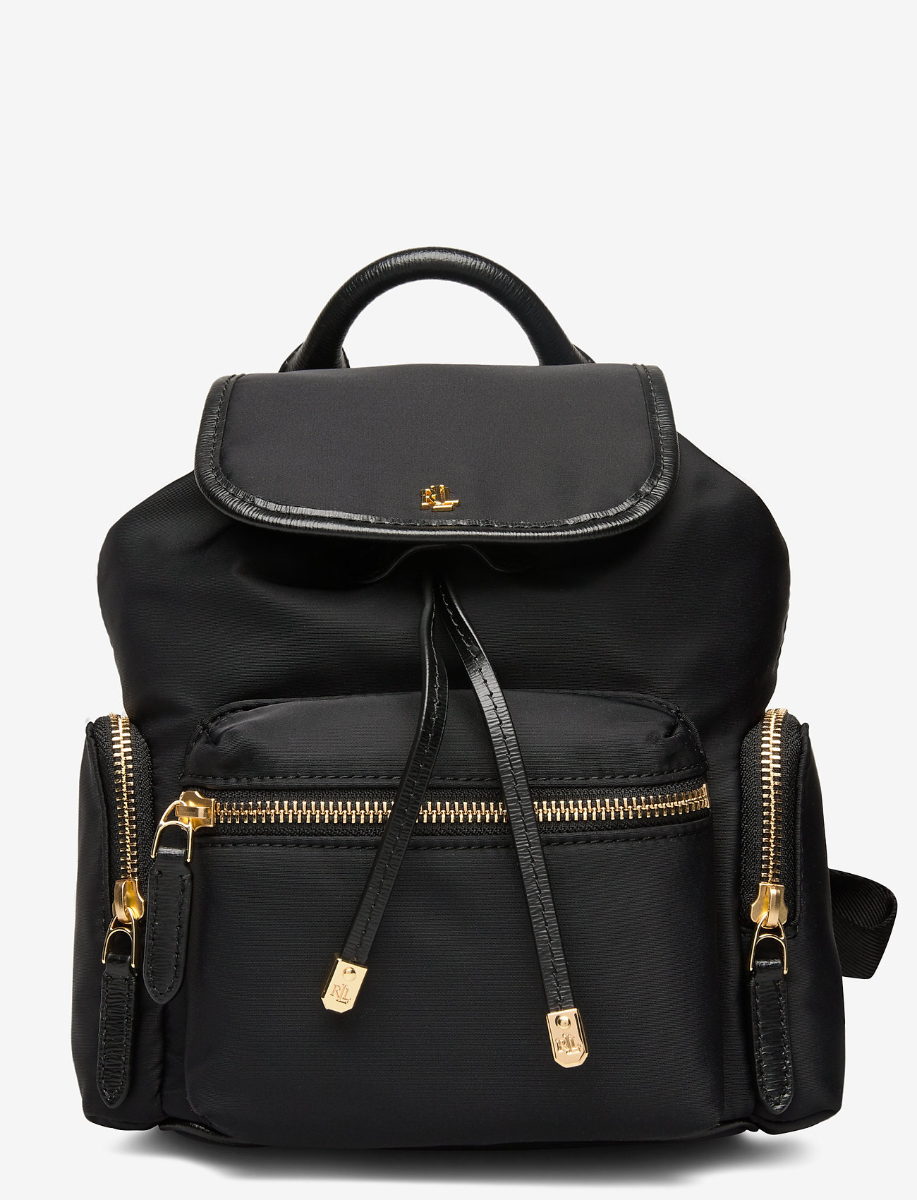 Lauren Ralph Lauren - Nylon Keely Small Backpack - rygsække - black - 0