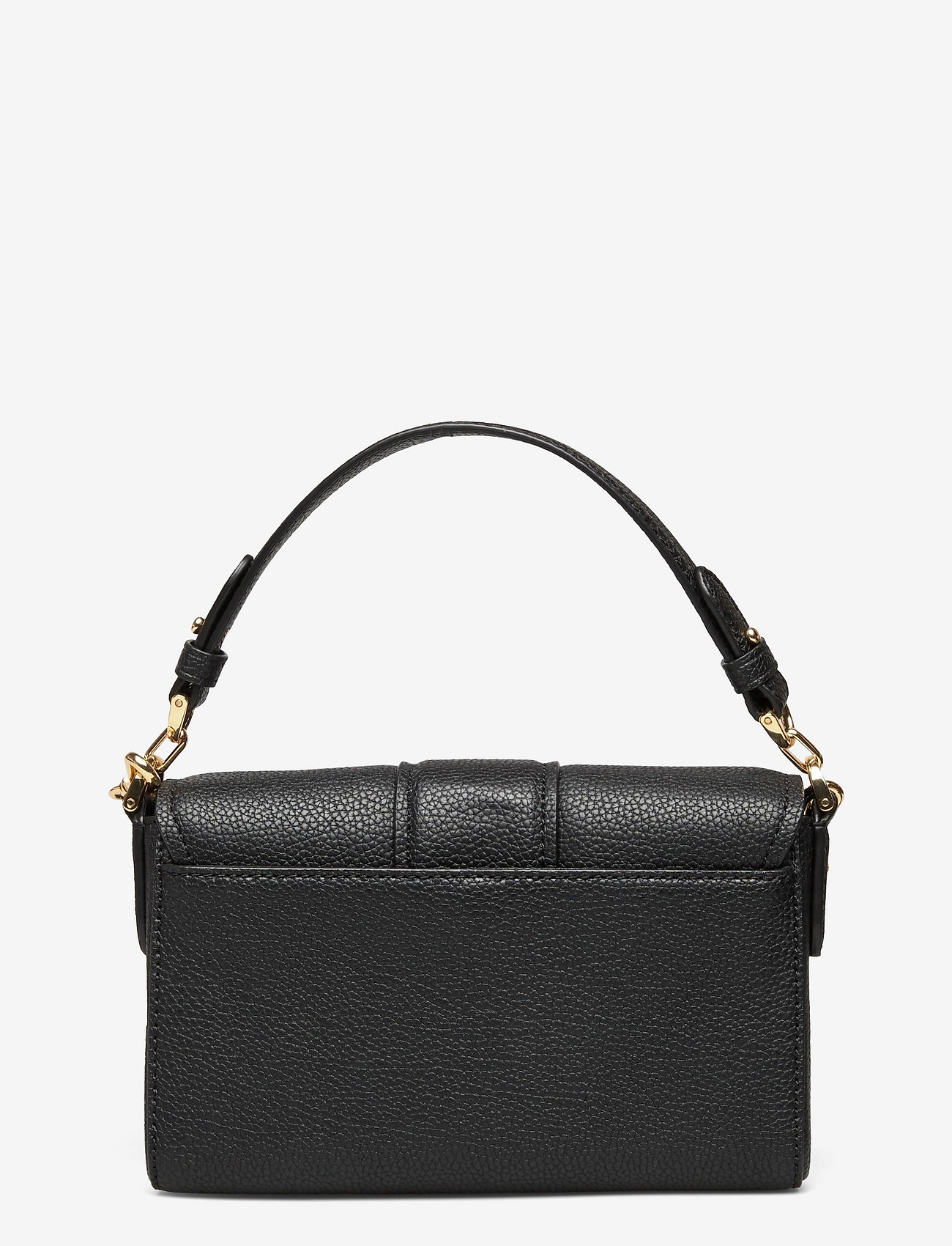 Lauren Ralph Lauren - Leather Spencer Shoulder Bag - skuldertasker - black - 1