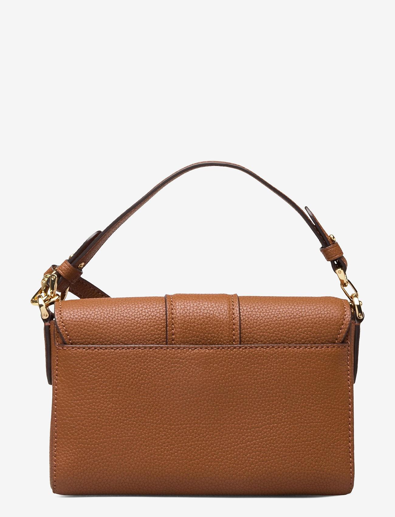 Lauren Ralph Lauren - Leather Spencer Shoulder Bag - skuldertasker - lauren tan - 1