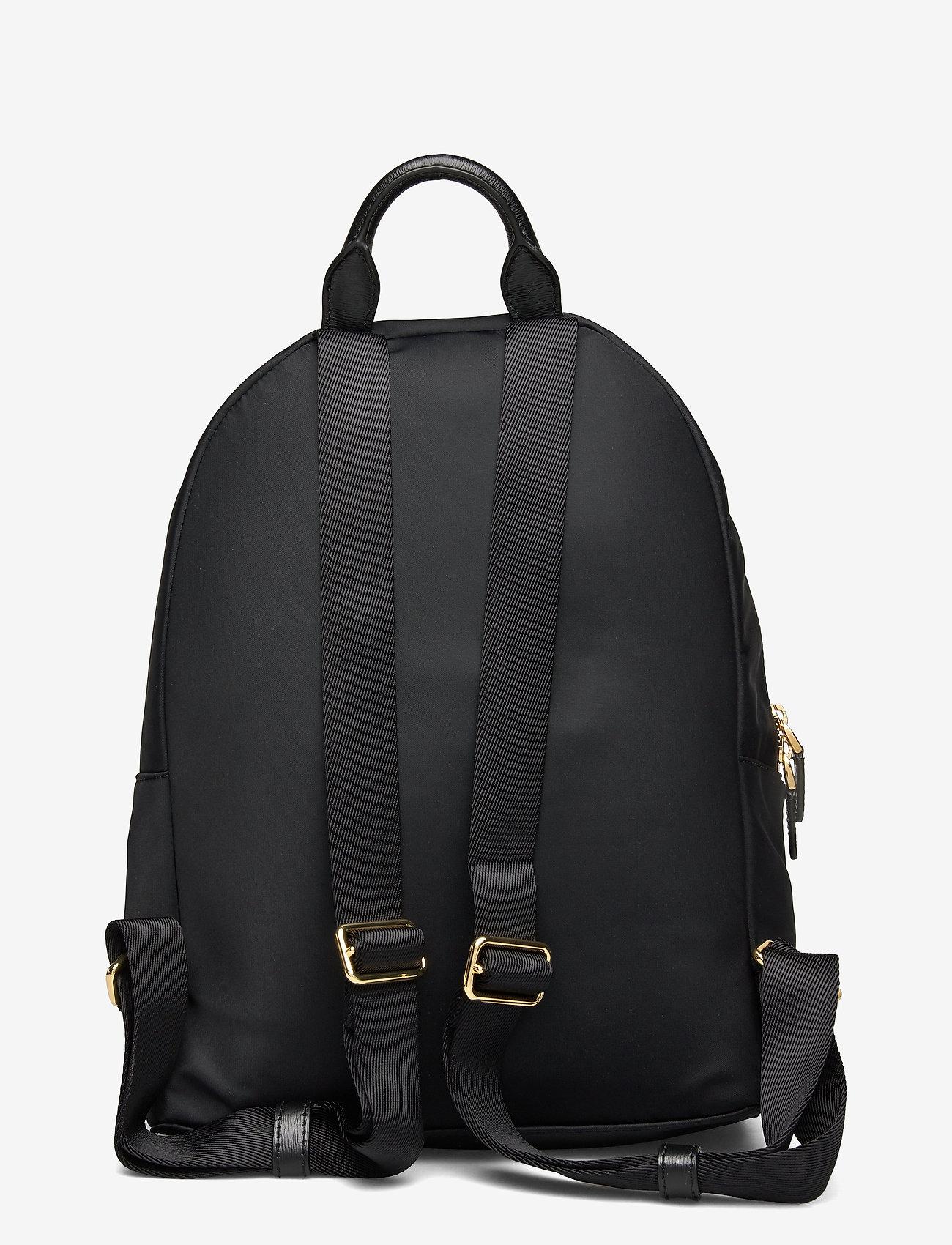 Lauren Ralph Lauren - Nylon Medium Clarkson Backpack - rygsække - black - 1