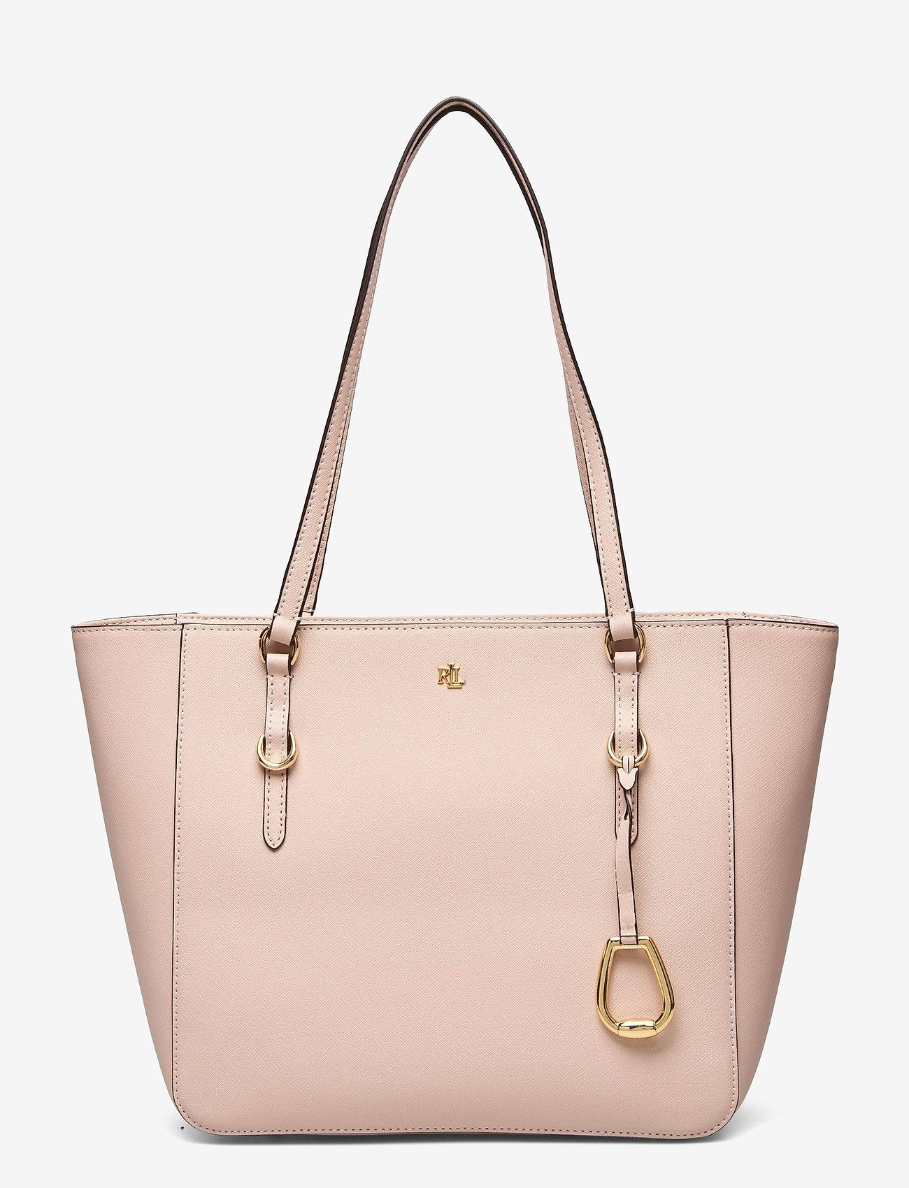 Lauren Ralph Lauren - Leather Medium Shopper - shoppere - ballet pink - 0