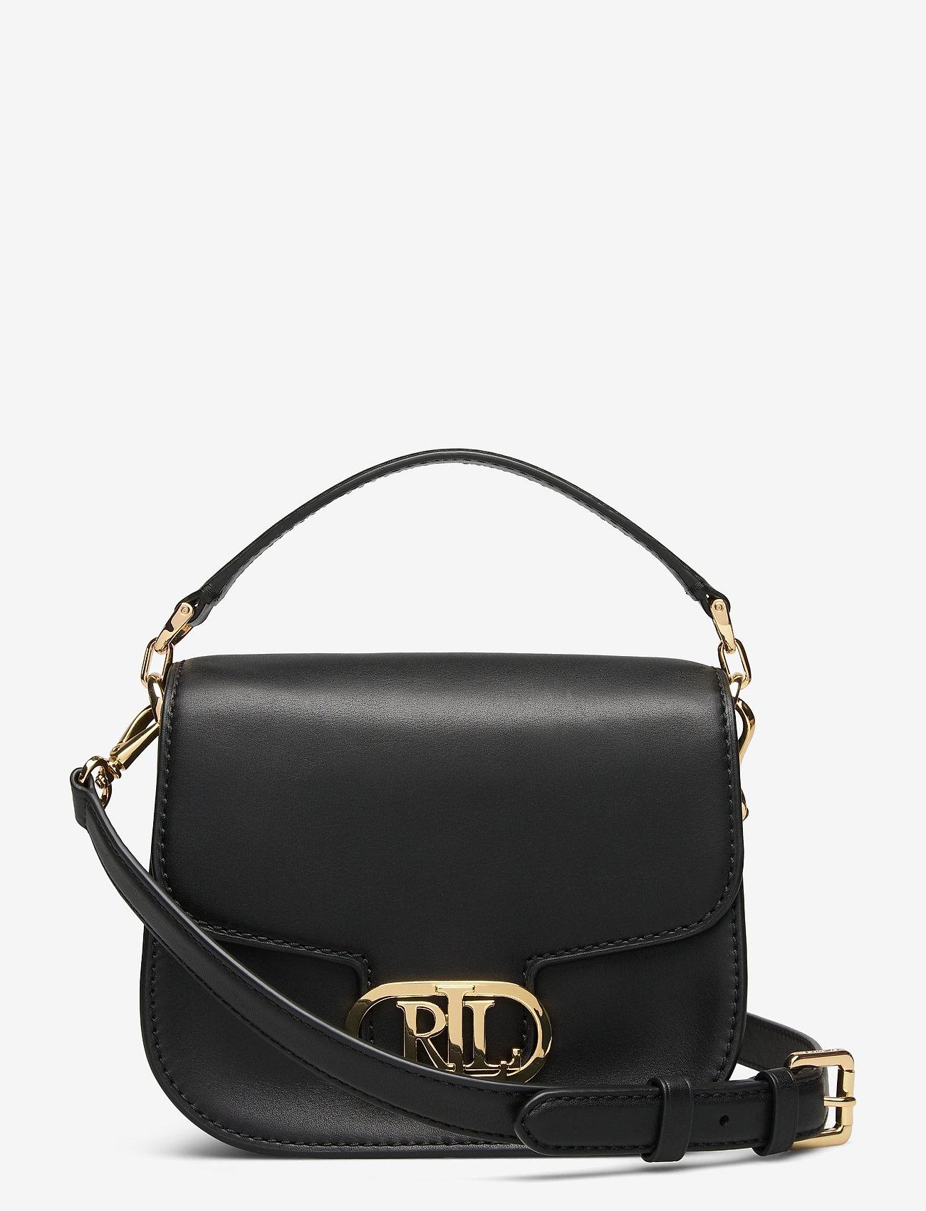 Lauren Ralph Lauren - Vegan Leather Small Addie Crossbody - crossbody bags - black - 0
