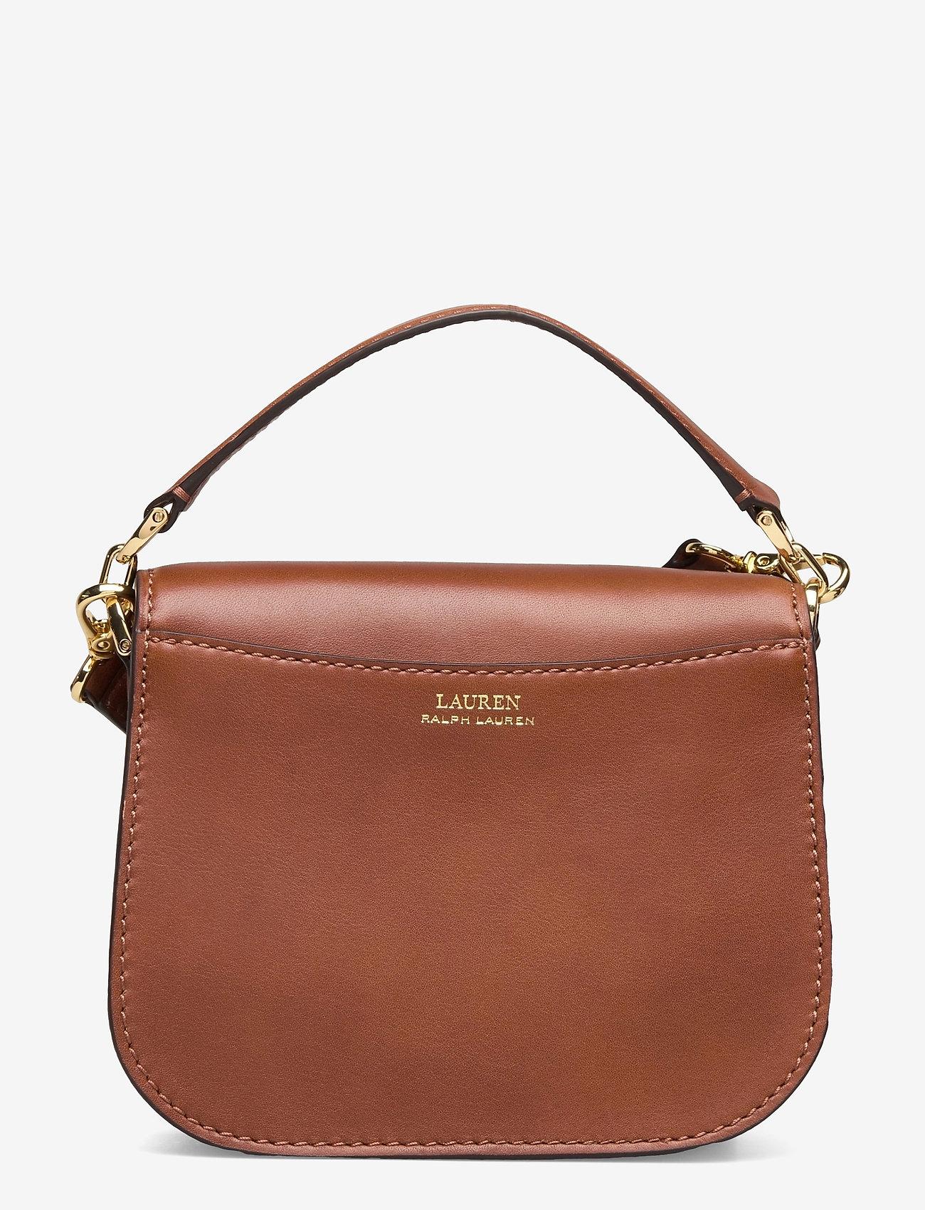 Lauren Ralph Lauren - Vegan Leather Small Addie Crossbody - crossbody bags - lauren tan - 1