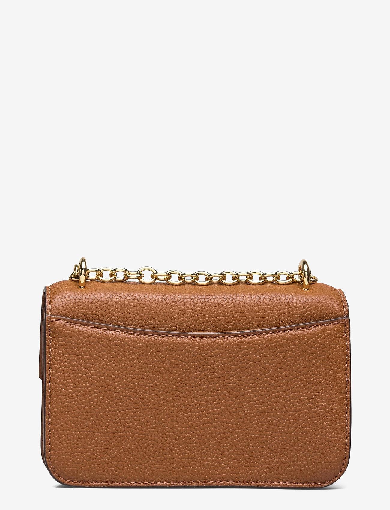 Lauren Ralph Lauren - Small Leather Madison Crossbody Bag - crossbody bags - lauren tan - 1