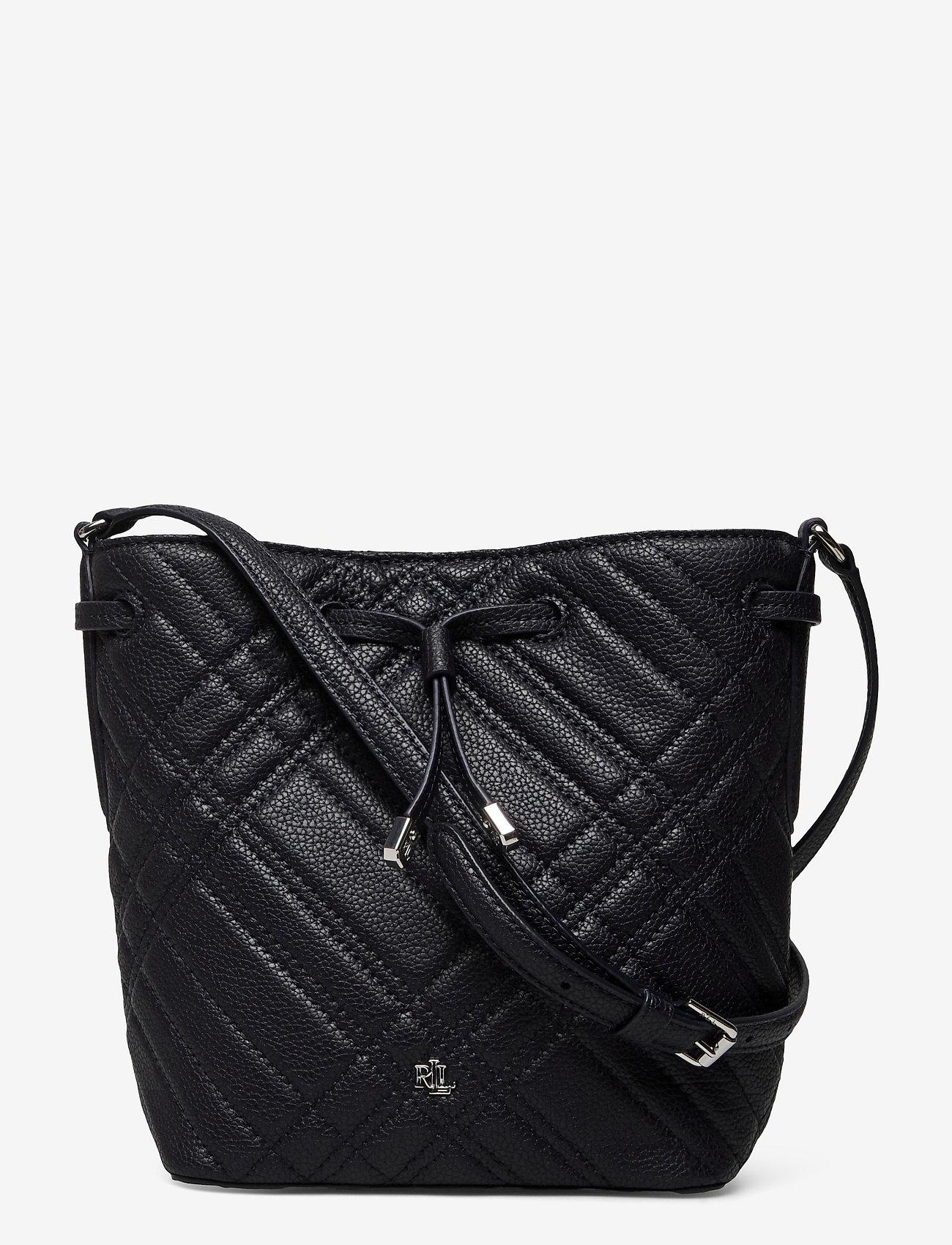 Lauren Ralph Lauren - Plaid Quilted Mini Debby II Bag - bucket bags - lauren navy - 0