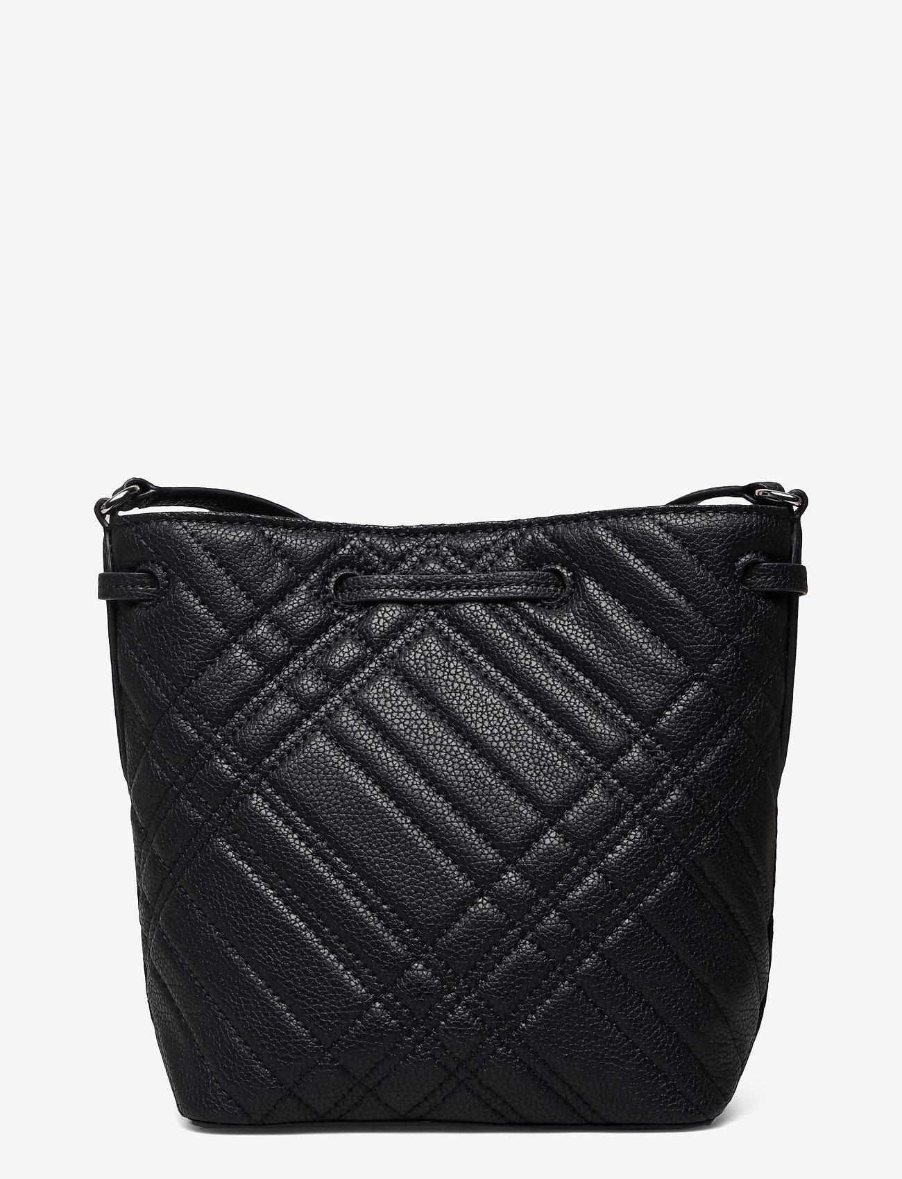 Lauren Ralph Lauren - Plaid Quilted Mini Debby II Bag - bucket bags - lauren navy - 1