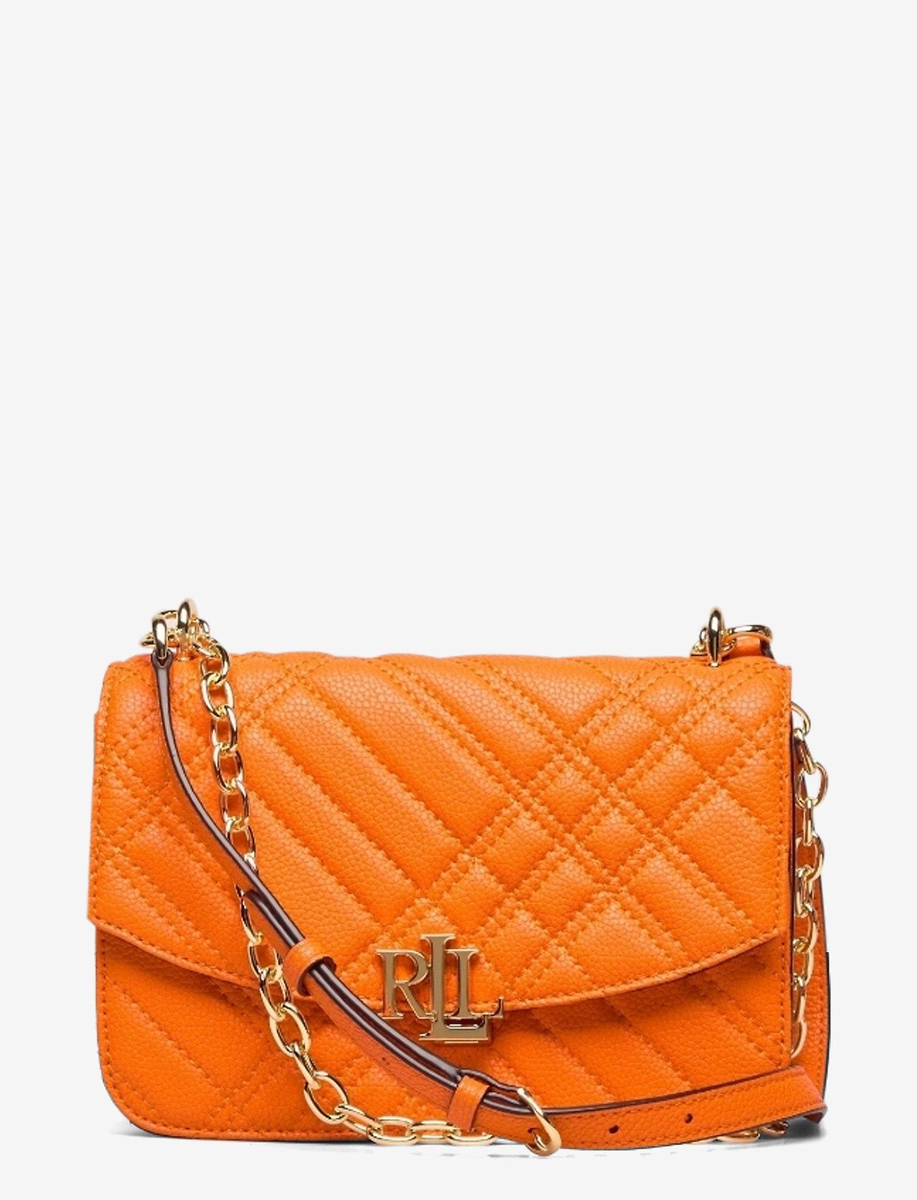 Lauren Ralph Lauren - Plaid Quilted Madison Crossbody Bag - crossbody bags - nautical orange - 0