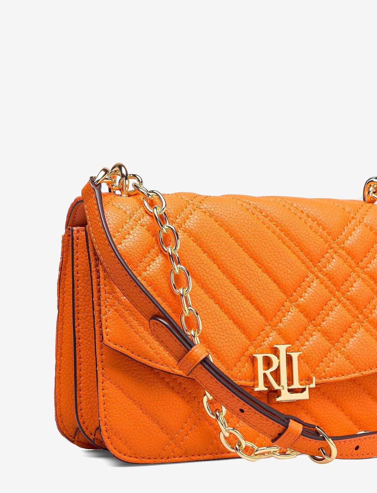 Lauren Ralph Lauren - Plaid Quilted Madison Crossbody Bag - crossbody bags - nautical orange - 3