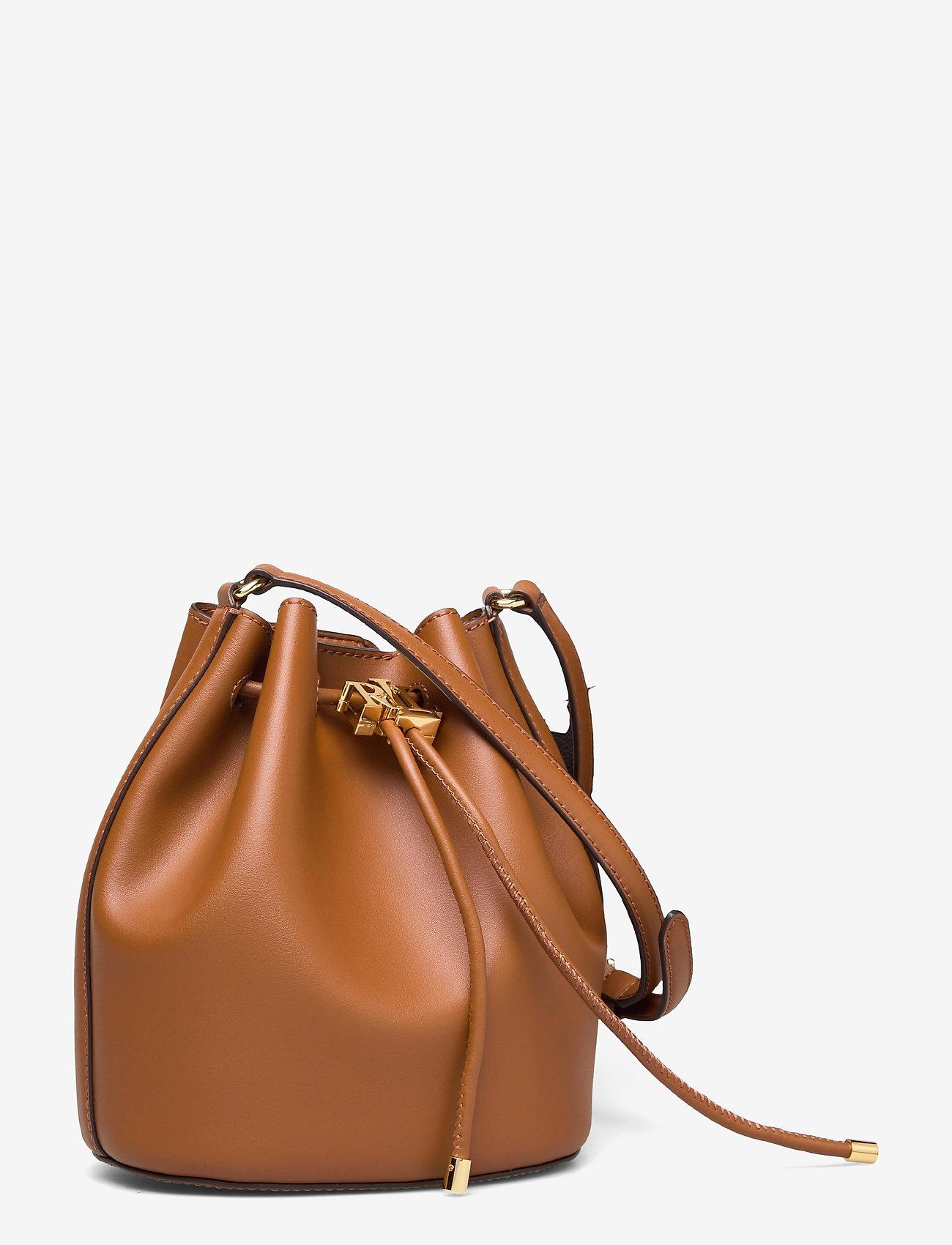 Lauren Ralph Lauren - Leather Medium Andie Drawstring Bag - bucketväskor - lauren tan - 2