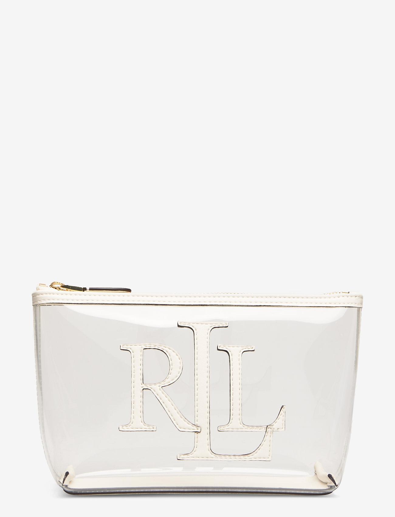 Lauren Ralph Lauren - Clear Cosmetic Bag - torby kosmetyczne - clear/vanilla - 0