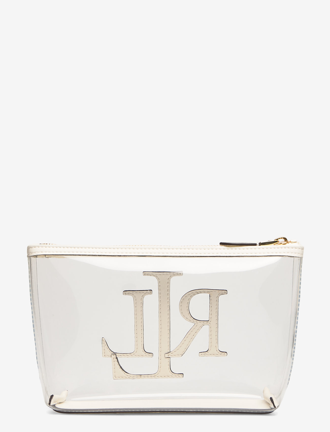 Lauren Ralph Lauren - Clear Cosmetic Bag - torby kosmetyczne - clear/vanilla - 1