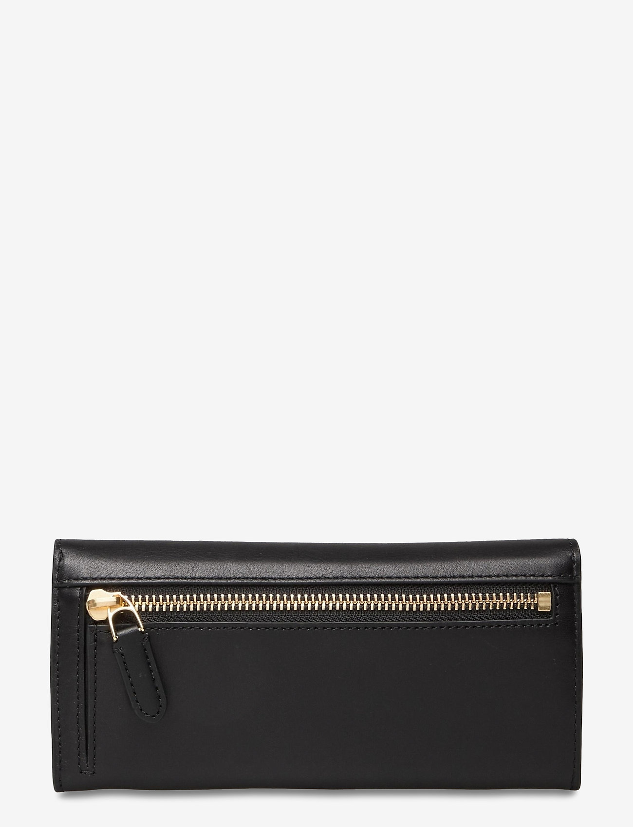 Lauren Ralph Lauren - Vegan Leather Continental Wallet - punge - black - 1