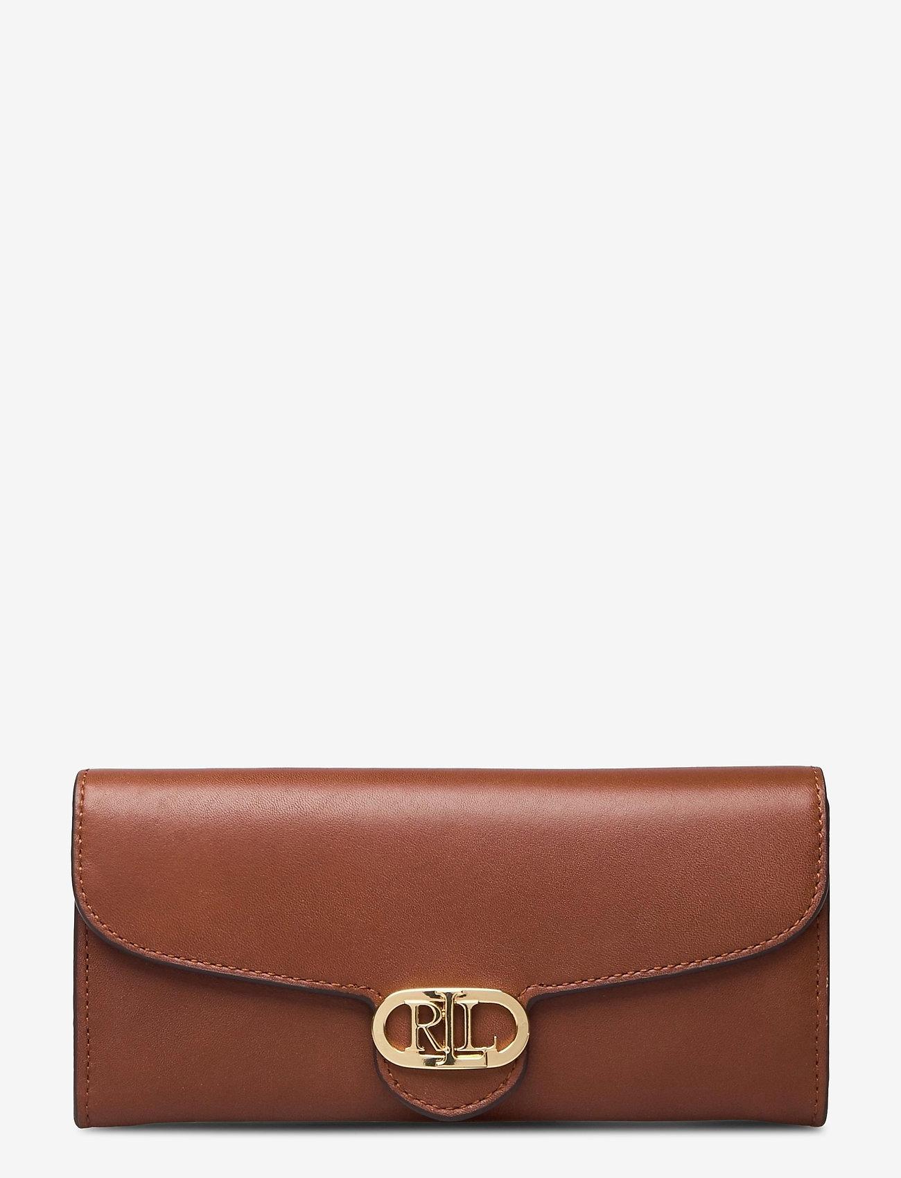 Lauren Ralph Lauren - Vegan Leather Continental Wallet - punge - lauren tan - 0
