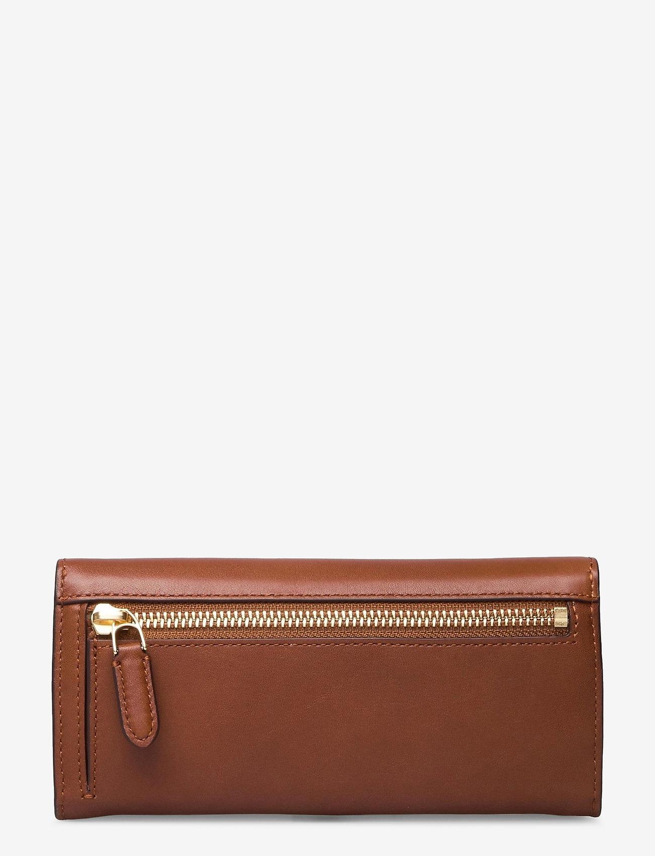 Lauren Ralph Lauren - Vegan Leather Continental Wallet - punge - lauren tan - 1
