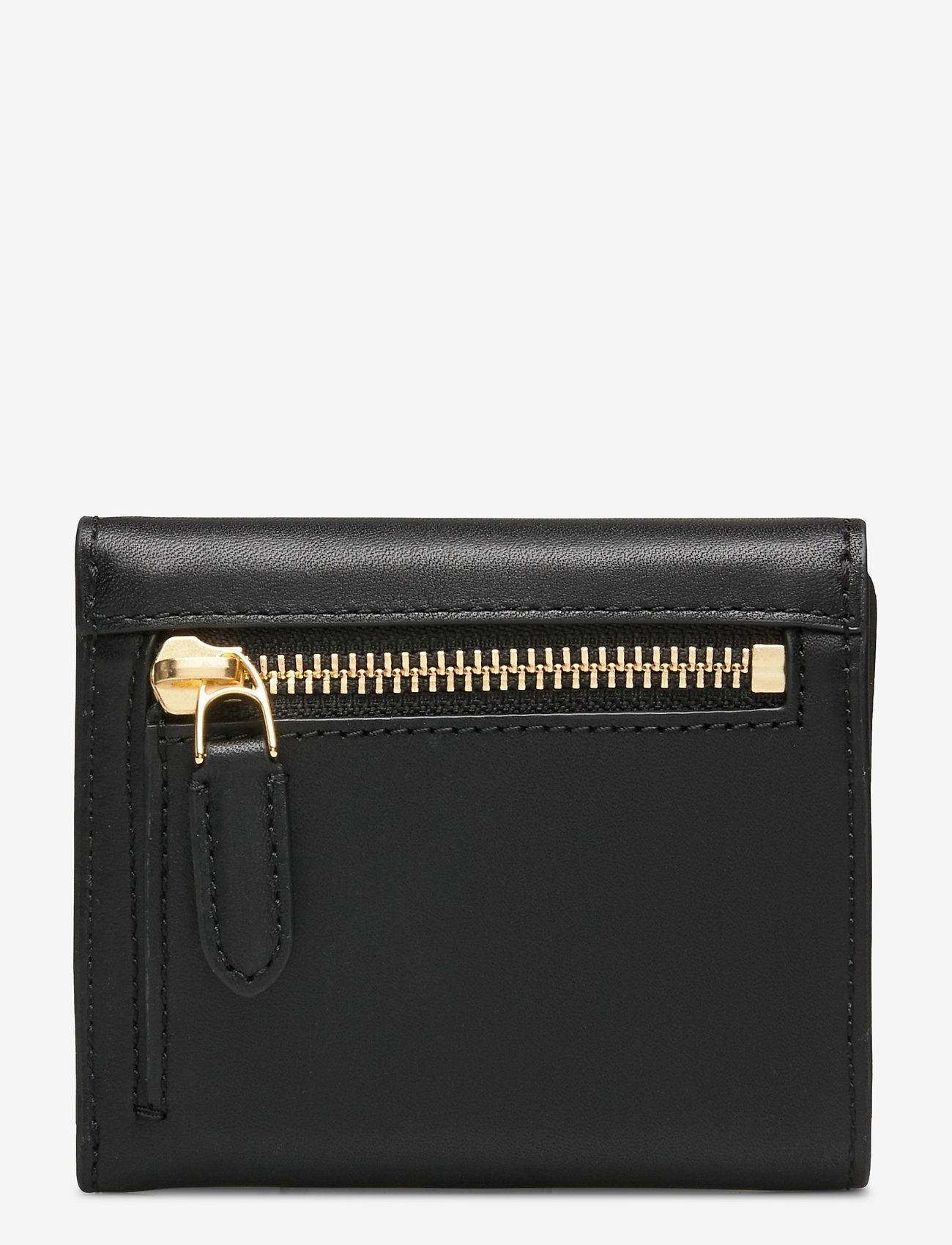 Lauren Ralph Lauren - Vegan Leather Compact Wallet - punge - black - 1