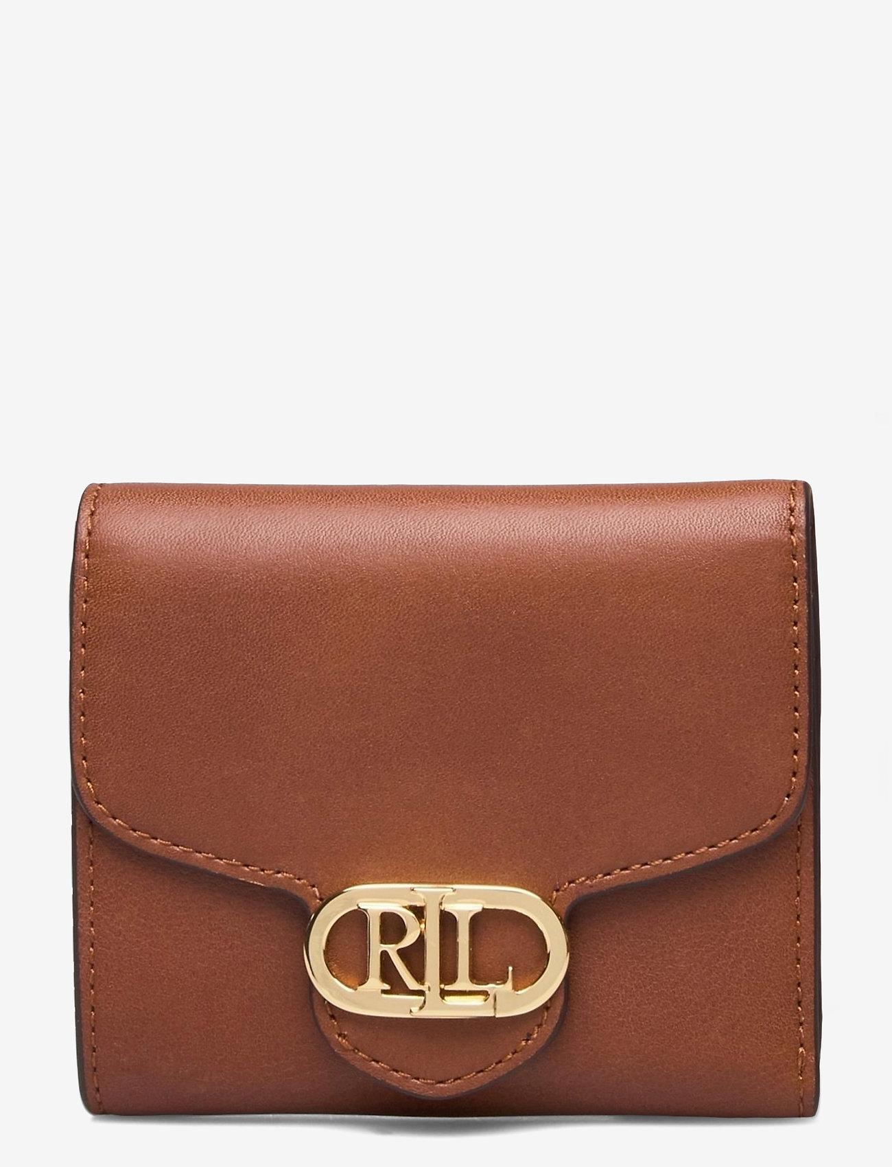 Lauren Ralph Lauren - Vegan Leather Compact Wallet - punge - lauren tan - 0