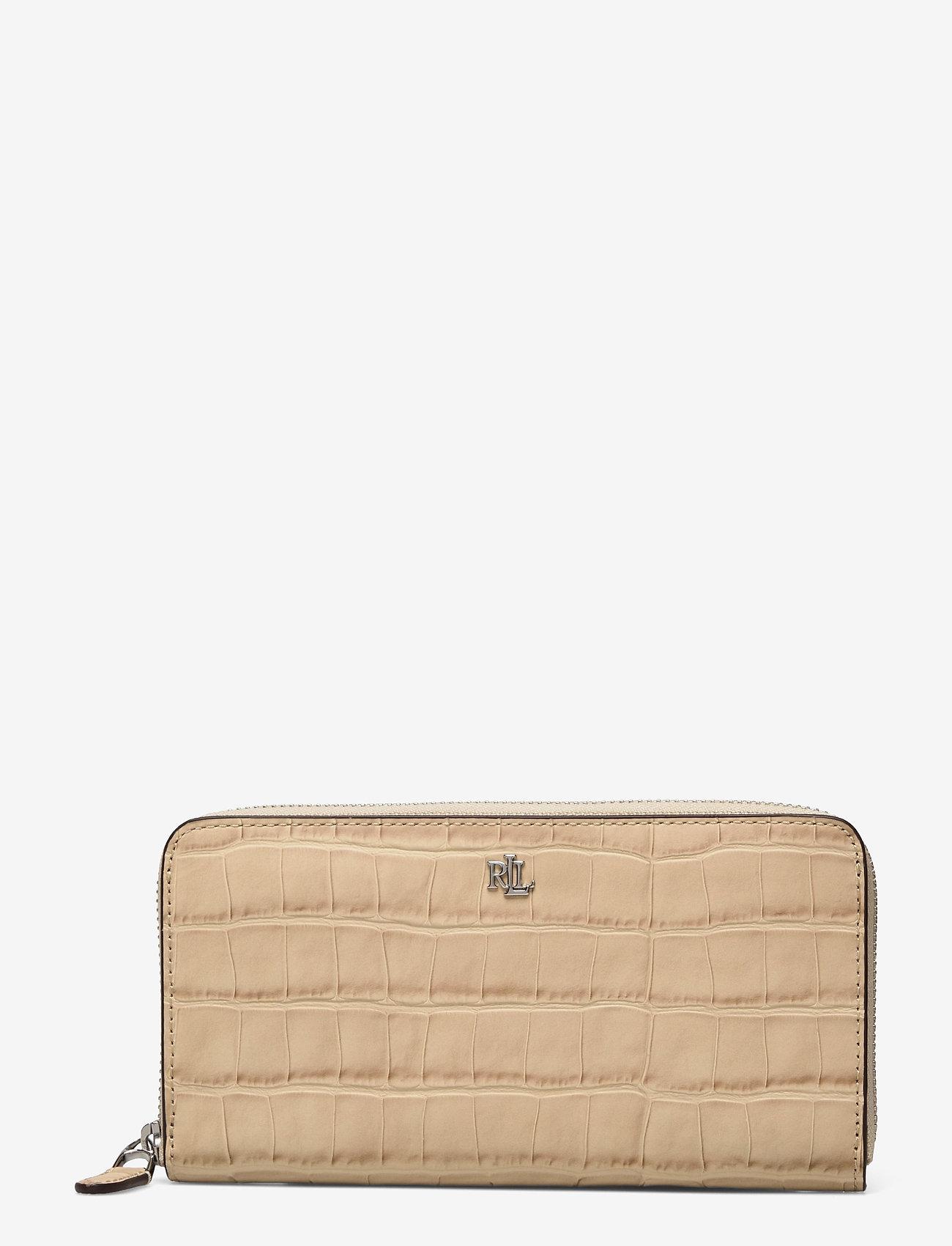 Lauren Ralph Lauren - Embossed Leather Continental Wallet - punge - dune tan - 0