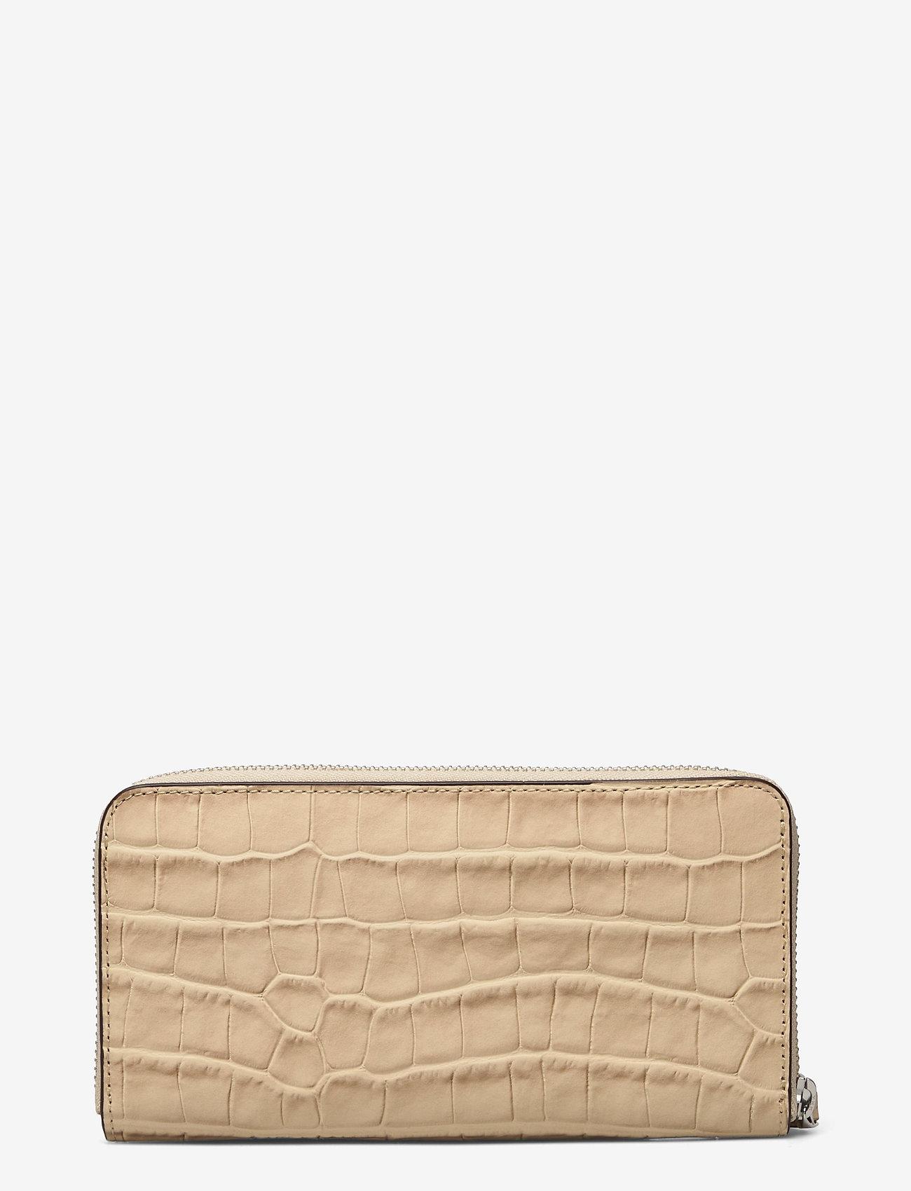 Lauren Ralph Lauren - Embossed Leather Continental Wallet - punge - dune tan - 1