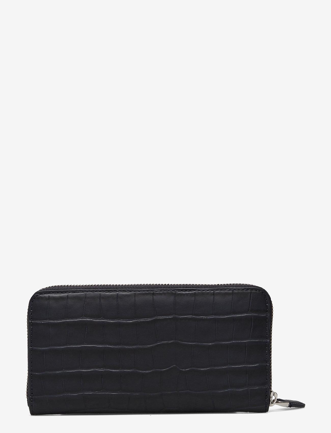 Lauren Ralph Lauren - Embossed Leather Continental Wallet - punge - lauren navy - 1