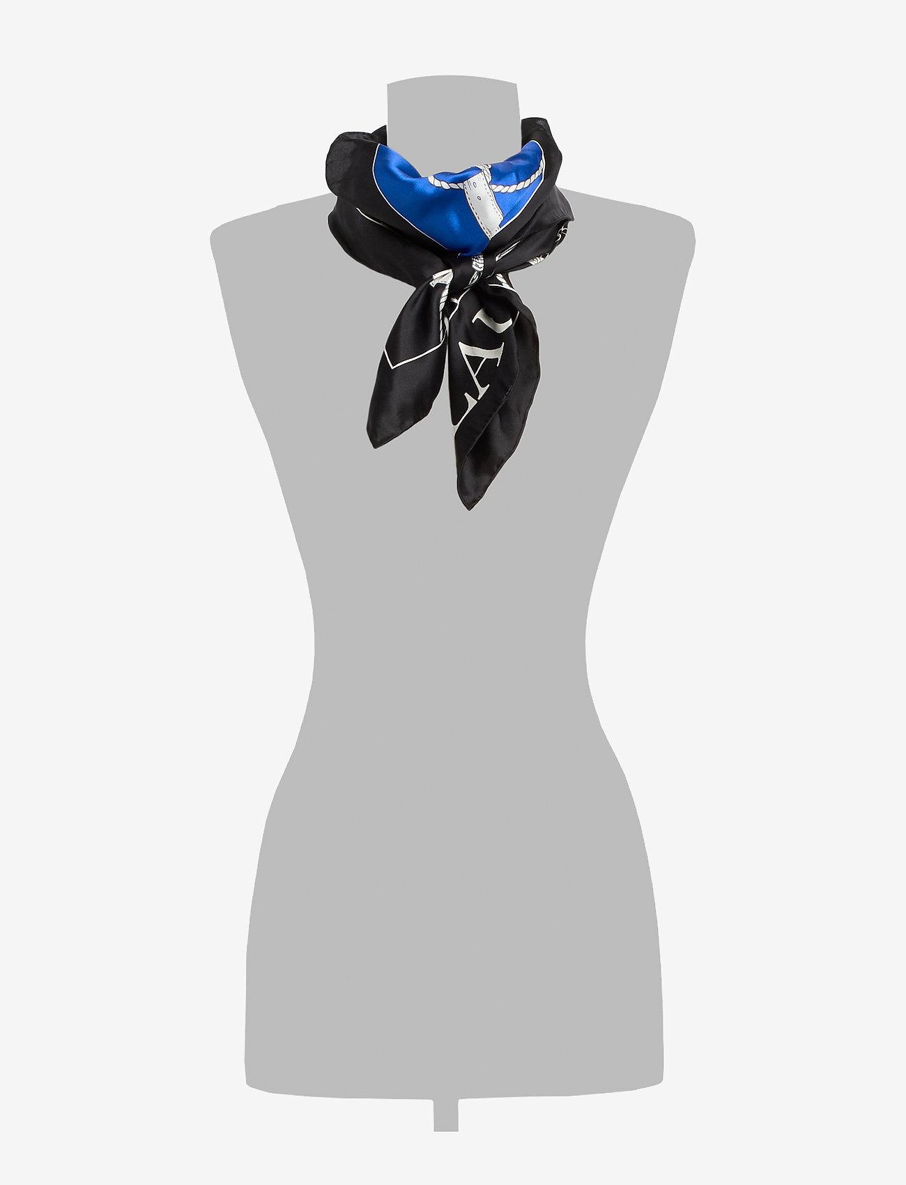 Lauren Ralph Lauren - Angelina Silk Scarf - skjerf - black
