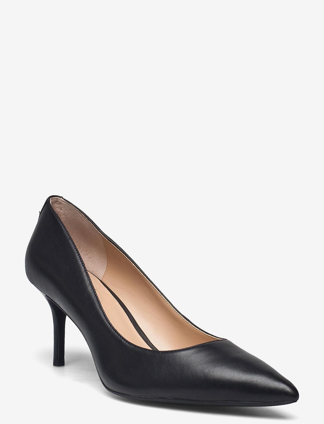 Lauren Ralph Lauren - Lanette Leather Pump - klassiske pumps - black - 0